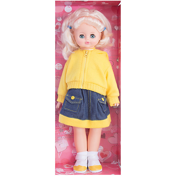 Ходячая кукла Алиса 7 (пластмассовая), со звуком, 55 см, ВеснаКуклы<br>Игрушки от компании Весна - это простой способ порадовать ребенка! Кукла для девочки - это не только игрушка, с которой можно весело провести время, кукла - это возможность отрабатывать навыки поведения в обществе, учиться заботе о других, делать прически и одеваться согласно моде и поводу.<br>Эта красивая классическая кукла не только эффектно выглядит, она дополнена звуковым модулем! Также она может ходить, если вести ее за руку. Игрушка модно одета и снабжена аксессуарами. Такая кукла запросто может стать самой любимой игрушкой! Произведена из безопасных для ребенка и качественных материалов.<br><br>Дополнительная информация:<br><br>цвет: разноцветный;<br>материал: пластик, текстиль;<br>комплектация: кукла, одежда, аксессуары;<br>звуковой модуль, умеет ходить;<br>высота: 55 см.<br><br>Ходячую куклу Алиса 7, со звуком, 55 см,  от компании Весна можно купить в нашем магазине.<br><br>Ширина мм: 240<br>Глубина мм: 150<br>Высота мм: 590<br>Вес г: 900<br>Возраст от месяцев: 36<br>Возраст до месяцев: 120<br>Пол: Женский<br>Возраст: Детский<br>SKU: 4642041