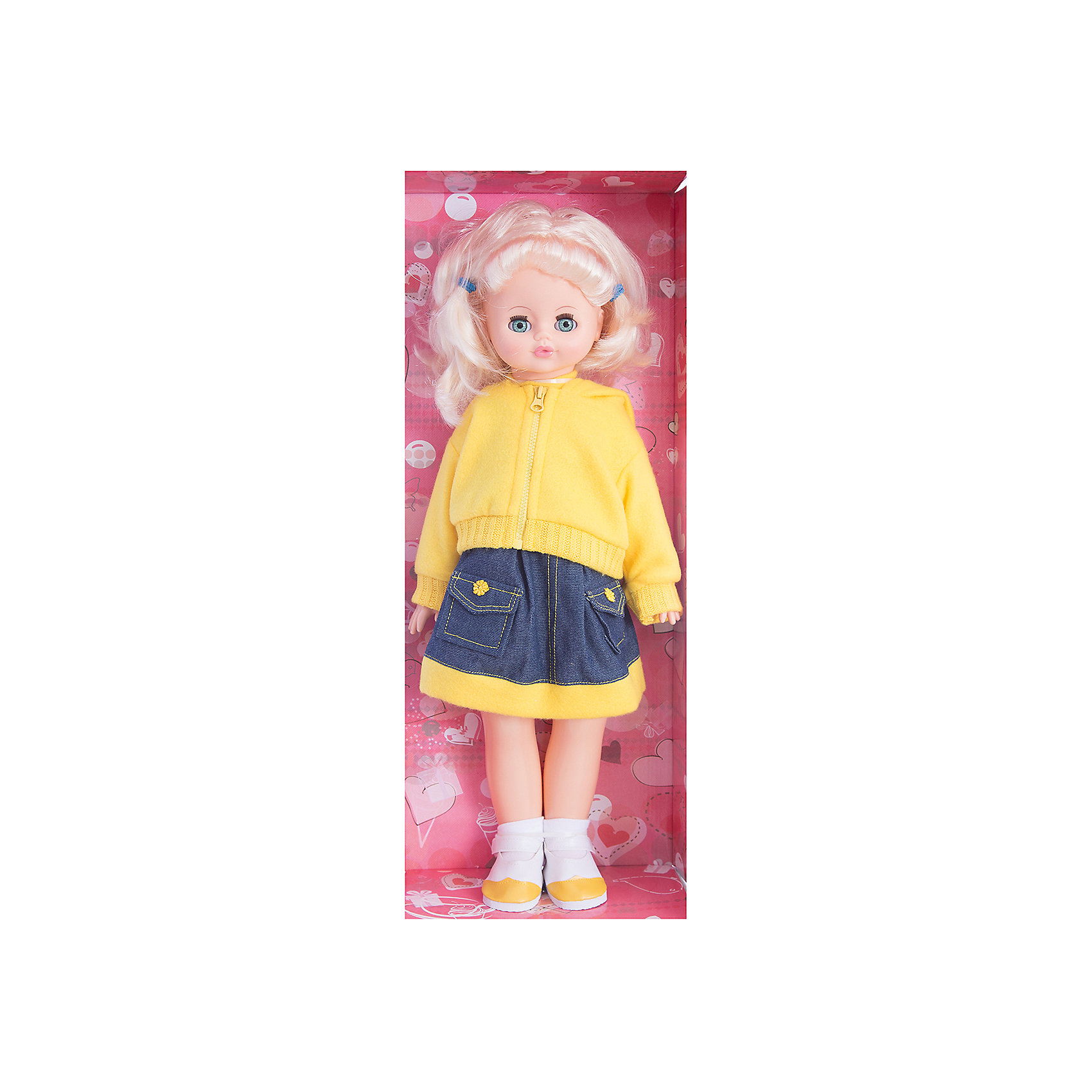 Ходячая кукла Алиса 7 (пластмассовая), со звуком, 55 см, ВеснаКлассические куклы<br>Игрушки от компании Весна - это простой способ порадовать ребенка! Кукла для девочки - это не только игрушка, с которой можно весело провести время, кукла - это возможность отрабатывать навыки поведения в обществе, учиться заботе о других, делать прически и одеваться согласно моде и поводу.<br>Эта красивая классическая кукла не только эффектно выглядит, она дополнена звуковым модулем! Также она может ходить, если вести ее за руку. Игрушка модно одета и снабжена аксессуарами. Такая кукла запросто может стать самой любимой игрушкой! Произведена из безопасных для ребенка и качественных материалов.<br><br>Дополнительная информация:<br><br>цвет: разноцветный;<br>материал: пластик, текстиль;<br>комплектация: кукла, одежда, аксессуары;<br>звуковой модуль, умеет ходить;<br>высота: 55 см.<br><br>Ходячую куклу Алиса 7, со звуком, 55 см,  от компании Весна можно купить в нашем магазине.<br><br>Ширина мм: 240<br>Глубина мм: 150<br>Высота мм: 590<br>Вес г: 900<br>Возраст от месяцев: 36<br>Возраст до месяцев: 120<br>Пол: Женский<br>Возраст: Детский<br>SKU: 4642041