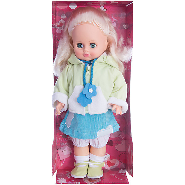 Кукла Инна 3 (пластмассовая), со звуком, 43 см, ВеснаКуклы<br>Кукла для девочки - это не только игрушка, с которой можно весело провести время, кукла - это возможность отрабатывать навыки поведения в обществе, учиться заботе о других, делать прически и одеваться согласно моде и поводу.<br>Эта красивая классическая кукла не только эффектно выглядит, она дополнена звуковым модулем! Игрушка модно одета и снабжена аксессуарами. Такая кукла запросто может стать самой любимой игрушкой! Произведена из безопасных для ребенка и качественных материалов.<br><br>Дополнительная информация:<br><br>цвет: разноцветный;<br>материал: пластик, текстиль;<br>комплектация: кукла, одежда, аксессуары;<br>высота: 43 см.<br><br>Куклу Инна 3 (пластмассовая), со звуком, 43 см, от компании Весна можно купить в нашем магазине.<br><br>Ширина мм: 210<br>Глубина мм: 130<br>Высота мм: 430<br>Вес г: 550<br>Возраст от месяцев: 36<br>Возраст до месяцев: 120<br>Пол: Женский<br>Возраст: Детский<br>SKU: 4642045