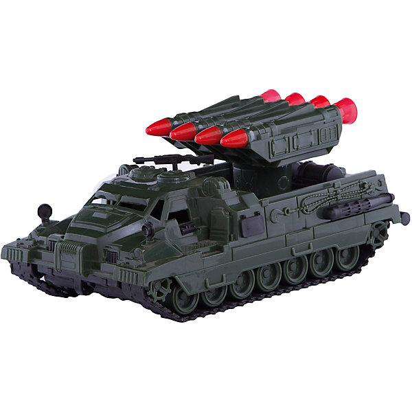 Установка ракетная Страж, НордпластВоенный транспорт<br>Характеристики:<br><br>• возраст: от 3 лет;<br>• тип игрушки: ракетная установка;<br>• размер: 30.8x13.4x16 см; <br>• высота: 30 см;<br>• материал: пластик;<br>• бренд: Нордпласт;<br>• страна производитель: Россия.<br> <br>Ракетная установка «Страж»  Нордпласт станет прекрасным дополнением коллекции ребенка. Копия легендарной ракетной установки выполнена очень реалистично, мелкие детали выглядят как настоящие. Ракеты на установке можно вращать вокруг оси, опускать и поднимать. Игрушка двигается на скрытых колесах (гусеницы не двигаются).<br><br>Ракетная установка выполнен с точной детализацией, имеет гусеничный ход, легко преодолеет препятствия на пути. Игрушка выполнена из пищевого пластика, что обеспечивает дополнительную безопасность при использовании детьми младших возрастов. <br><br>Ракетную установку «Страж»  Нордпласт можно купить в нашем интернет-магазине.<br>Ширина мм: 308; Глубина мм: 160; Высота мм: 134; Вес г: 460; Возраст от месяцев: 36; Возраст до месяцев: 84; Пол: Унисекс; Возраст: Детский; SKU: 4642062;