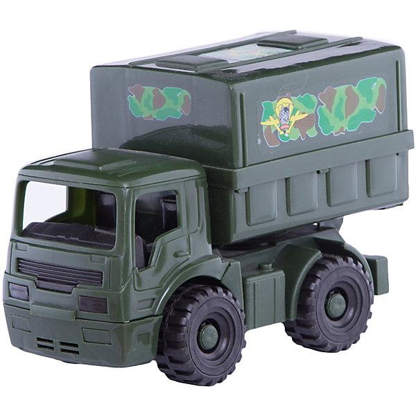 Фургон Армейский, НордпластВоенный транспорт<br>Характеристики товара:<br><br>• размер игрушки: 22,5х11,5х15,5 см;<br>• возраст: от 3 лет;<br>• материал: пластмасса, металл;<br>• страна бренда: Россия.<br><br>Армейский фургон Нордпласт - прекрасное дополнение к коллекции военной техники мальчика. Игрушка изготовлена из прочных материалов, а ее рельефные колеса отлично справляются с любой поверхностью. В кабину ребенок сможет посадить фигурку человечка для управления машиной. Игрушка окрашена нетоксичными, гипоаллергенными красителями.<br><br>Фургон Армейский, Нордпласт можно купить в нашем интернет-магазине.<br><br>Ширина мм: 225<br>Глубина мм: 115<br>Высота мм: 155<br>Вес г: 320<br>Возраст от месяцев: 36<br>Возраст до месяцев: 84<br>Пол: Унисекс<br>Возраст: Детский<br>SKU: 4642063