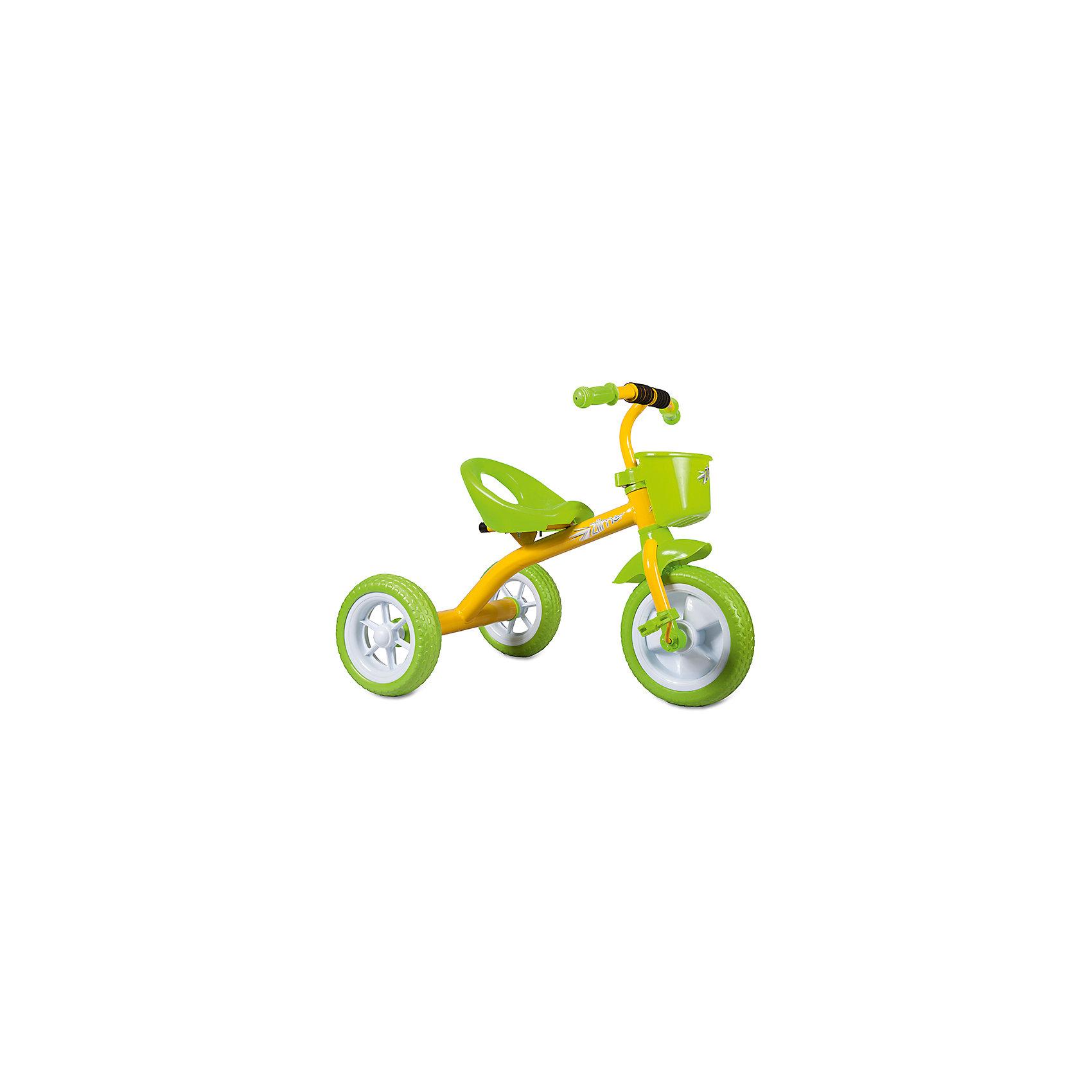 Трехколесный велосипед Сильвер Люкс, желтый, ZilmerВелосипеды детские<br>Велосипед Zilmer Сильвер Люкс (3 колеса EVA 10/8, сталь, корзина, жёлт.)        Трёхколёсный велосипед Zilmer!<br>Основные особенности данной модели: колёса EVA, удобное сиденье, вместительная корзина. Руль оснащён мягкой накладкой. В корзинку можно сложить необходимые для прогулки вещи. Велосипед сделан из надёжных и безопасных материалов. Яркий цвет  и привлекательный внешний вид обращают на себя внимание.<br>Преимущества:<br>Удобный руль с мягкой накладкой<br>Корзинка<br>Яркий цвет<br>Вес 1 шт.: 3 кг<br><br>Ширина мм: 300<br>Глубина мм: 225<br>Высота мм: 200<br>Вес г: 4250<br>Возраст от месяцев: 12<br>Возраст до месяцев: 36<br>Пол: Унисекс<br>Возраст: Детский<br>SKU: 4642327