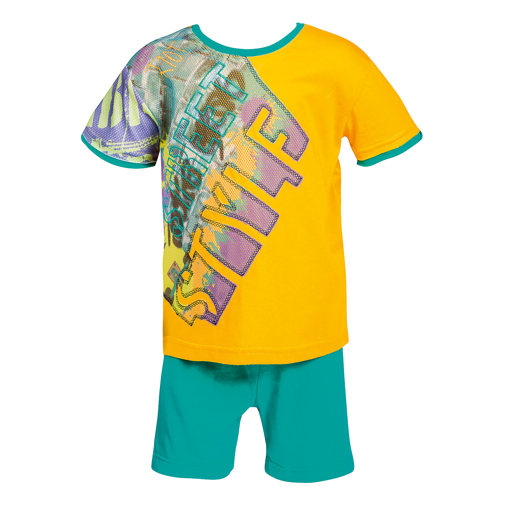 Bell Bimbo Комплект: Футболка и шорты для мальчика Bell Bimbo bell bimbo комплект футболка и юбка для девочки bell bimbo