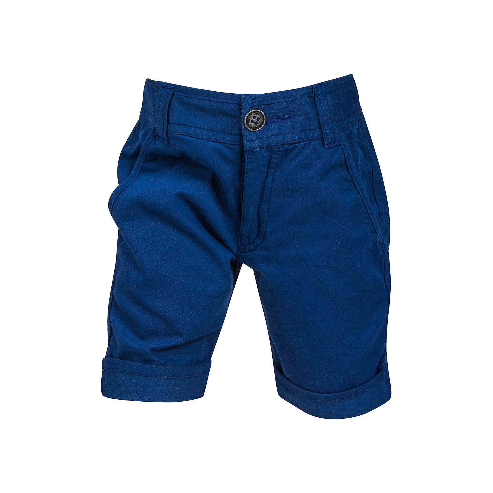 Шорты для мальчика Bell BimboШорты, бриджи, капри<br>Однотонные шорты дополнены  двумя боковыми карманами спереди, двумя карманами на пуговицах сзади, шлёвки для ремня, застежка - молния+пуговица, манжеты. Состав: Твил 100% хлопок<br><br>Ширина мм: 191<br>Глубина мм: 10<br>Высота мм: 175<br>Вес г: 273<br>Цвет: синий<br>Возраст от месяцев: 60<br>Возраст до месяцев: 72<br>Пол: Мужской<br>Возраст: Детский<br>Размер: 116,110,104,98,122<br>SKU: 4645468