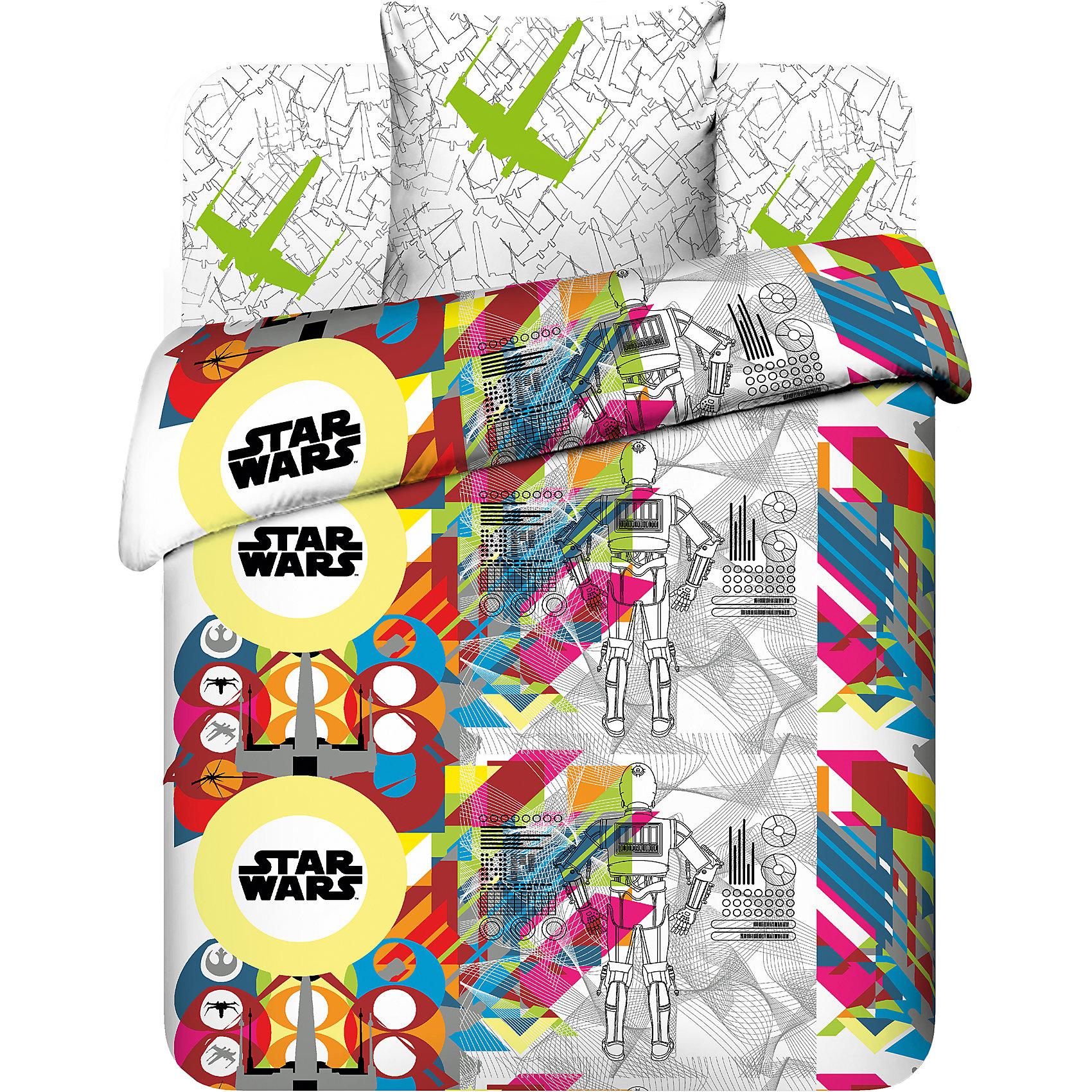 Комплект Светлая сторона 1,5-спальный (наволочка70х70), Star WarsДомашний текстиль<br>Комплект Светлая сторона 1,5-спальный (наволочка70х70), Star Wars - этот КПБ идеально подойдет для кровати вашего ребенка.<br>Постельное белье Светлая сторона обрадует юного поклонника культовой саги Звездные войны. Свежий, стильный, многогранный дизайн белья отлично впишется практически в любой интерьер. Постельное белье изготовлено из бязи (100% хлопок). Белье приятное на ощупь, отлично впитывает влагу и хорошо пропускает воздух, позволяя коже дышать. Устойчивые гипоаллергенные красители безопасны для здоровья ребенка. Белье легко стирается, гладится, сохраняет цвет и прочность даже после многочисленных стирок. На ткани не образуются катышки.<br><br>Дополнительная информация:<br><br>- Размер: 1,5 спальный<br>- В комплекте: простыня 150х214 см., пододеяльник 145х215 см., наволочка 70х70 см.<br>- Материал: бязь (100 % хлопок)<br>- Плотность ткани: 125 г/м2<br>- Размер упаковки: 28х6х28 см.<br>- Вес: 1,39 кг.<br><br>Комплект Светлая сторона 1,5-спальный (наволочка70х70), Star Wars можно купить в нашем интернет-магазине.<br><br>Ширина мм: 280<br>Глубина мм: 60<br>Высота мм: 280<br>Вес г: 1390<br>Возраст от месяцев: 84<br>Возраст до месяцев: 192<br>Пол: Унисекс<br>Возраст: Детский<br>SKU: 4645551