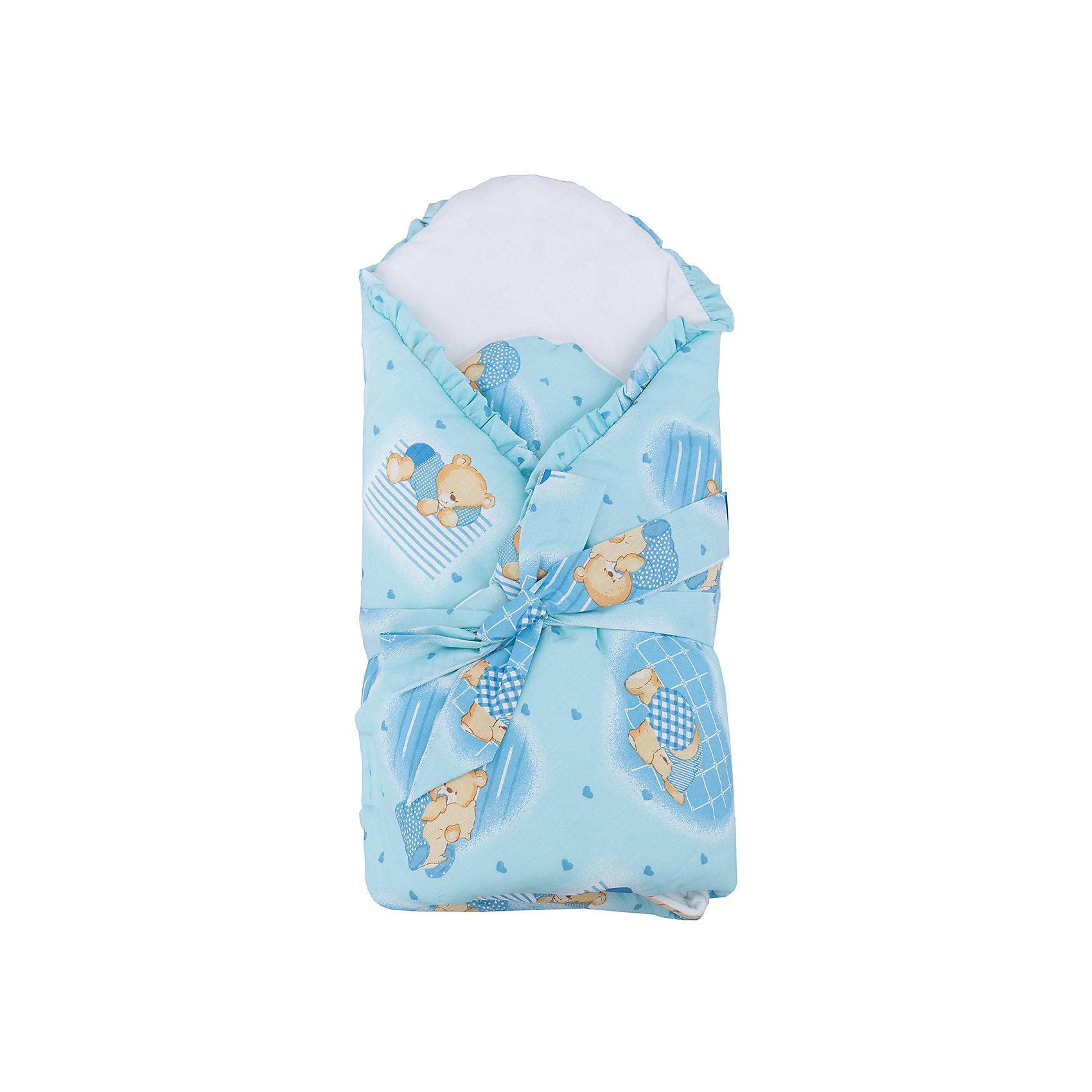 Конверт-одеяло в коляску, Бимоша, голубойКонверт-одеяло в коляску, Бимоша, прекрасно подойдет как на выписку малыша, так и для прогулок в коляске в прохладную погоду. Конверт выполнен из высококачественных материалов, нежная мягкая ткань не раздражает чувствительную и нежную кожу малыша, хорошо пропускает воздух и сохраняет тепло. Съёмный поролоновый вкладыш надежно поддерживает спинку ребенка в комфортном положении. Верх конверта изготовлен из приятной хлопковой ткани, подкладка из мягкой фланели, наполнитель - синтепон. Конверт имеет нарядный привлекательный дизайн в нежных голубых тонах и украшен принтом с забавными мишками и рюшами по краям. Надежно закрепляется застежкой на липучке и завязкой на бант. Конверт полностью раскладывается и его можно использовать как мягкое и уютное детское одеяло, вынув вкладыш.<br><br>Дополнительная информация:<br><br>- Цвет: голубой.<br>- Сезон: весна-осень.<br>- Материал: верх конверта - 65% хлопок 35% полиэстер, подкладка - фланель (100% хлопок), утеплитель - синтепон 200г/м?. <br>- Размер: 80 х 80 см.<br>- Вес: 0,5 кг.<br><br>Конверт-одеяло в коляску, Бимоша, голубой, можно купить в нашем интернет-магазине.<br><br>Ширина мм: 800<br>Глубина мм: 800<br>Высота мм: 50<br>Вес г: 500<br>Возраст от месяцев: 0<br>Возраст до месяцев: 24<br>Пол: Мужской<br>Возраст: Детский<br>SKU: 4645565