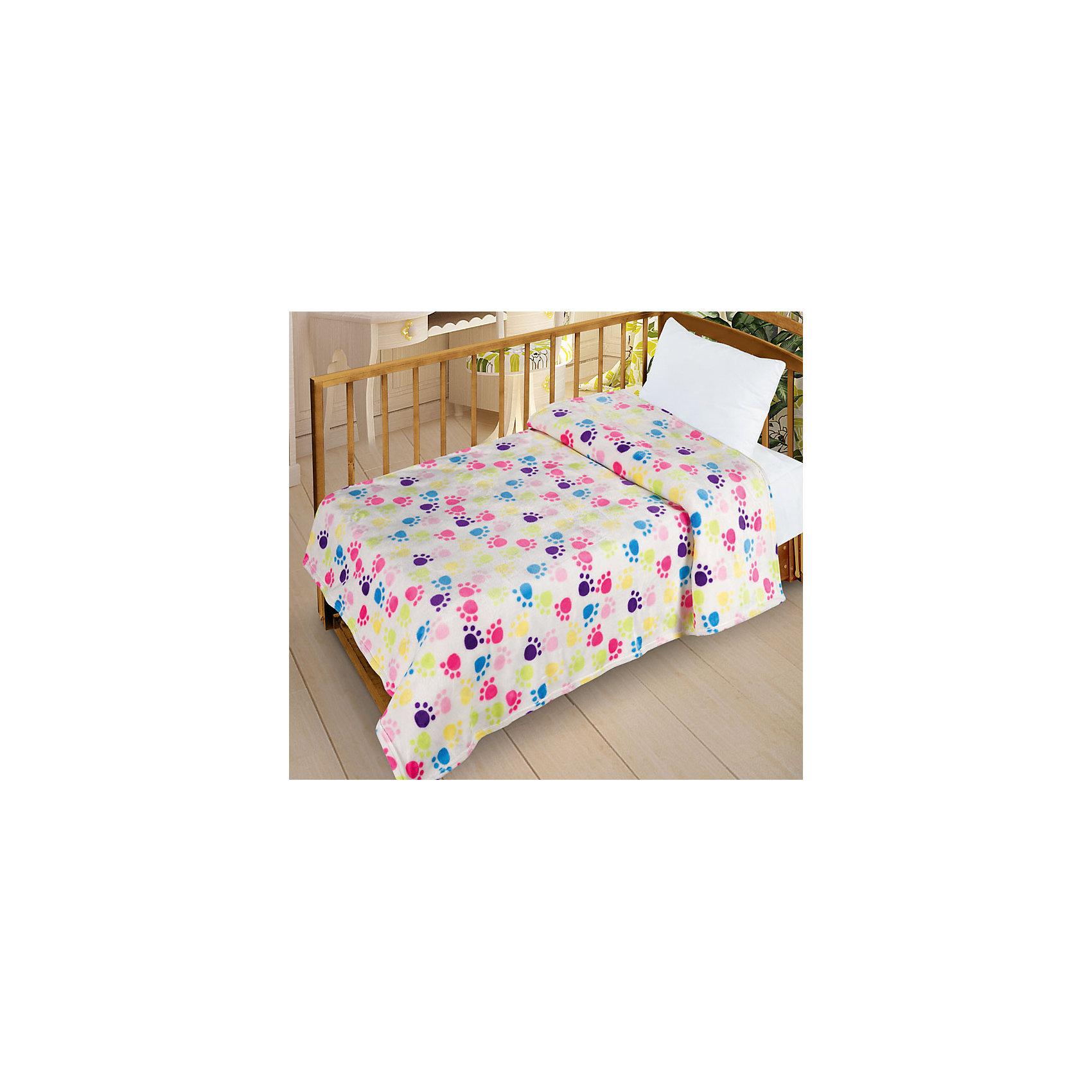 Letto Плед  Велсофт-беби в кроватку VB07, 95х130 балдахин на детскую кроватку купить в пензе