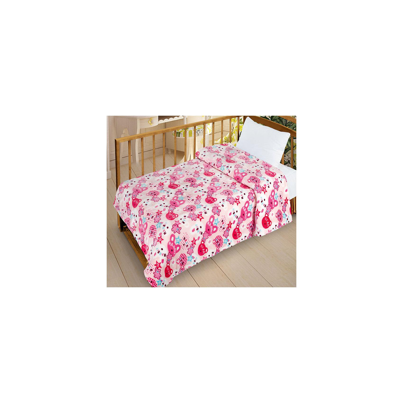 Letto Плед  Велсофт-беби в кроватку VB08, 95х130