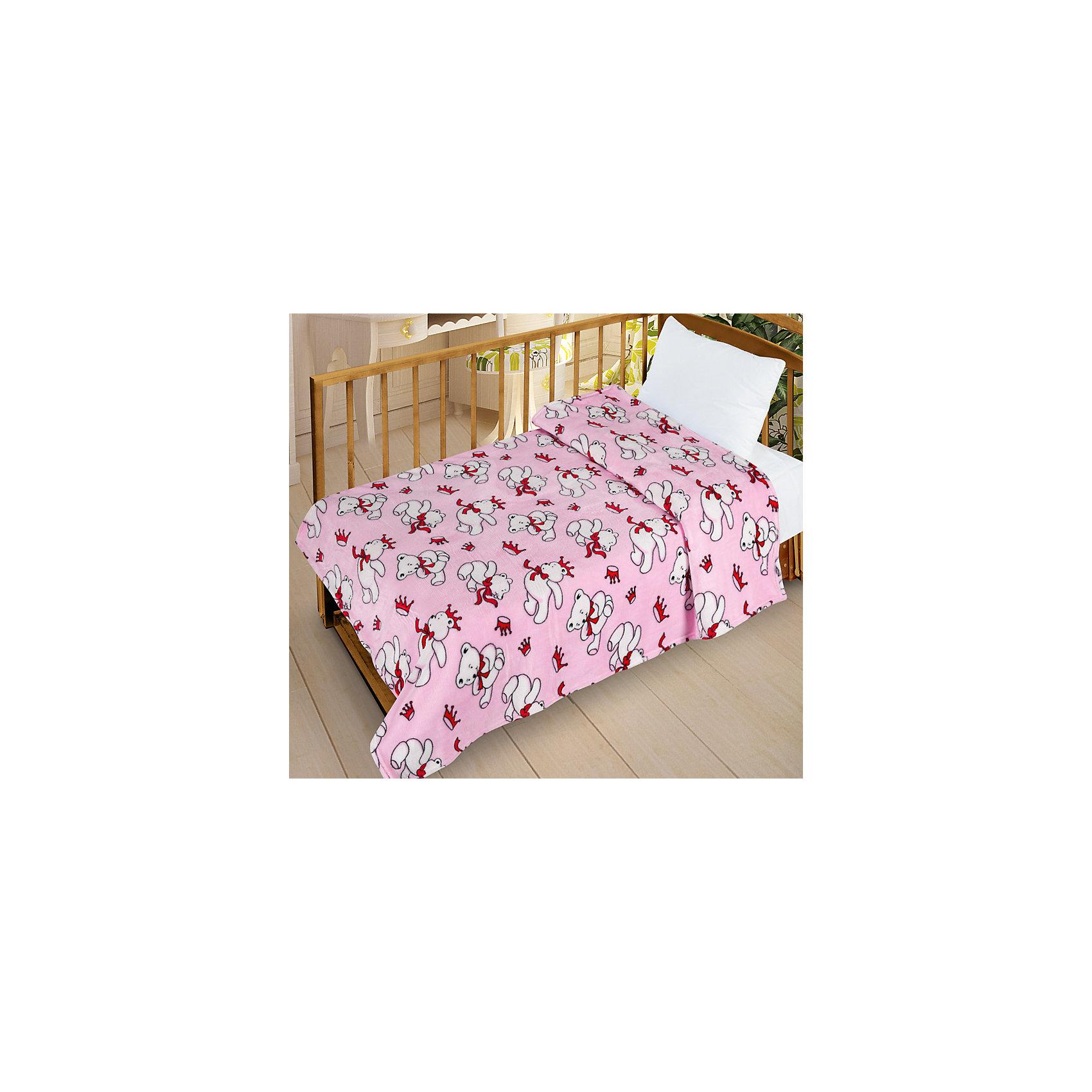Letto Плед  Велсофт-беби в кроватку VB11, 95х130