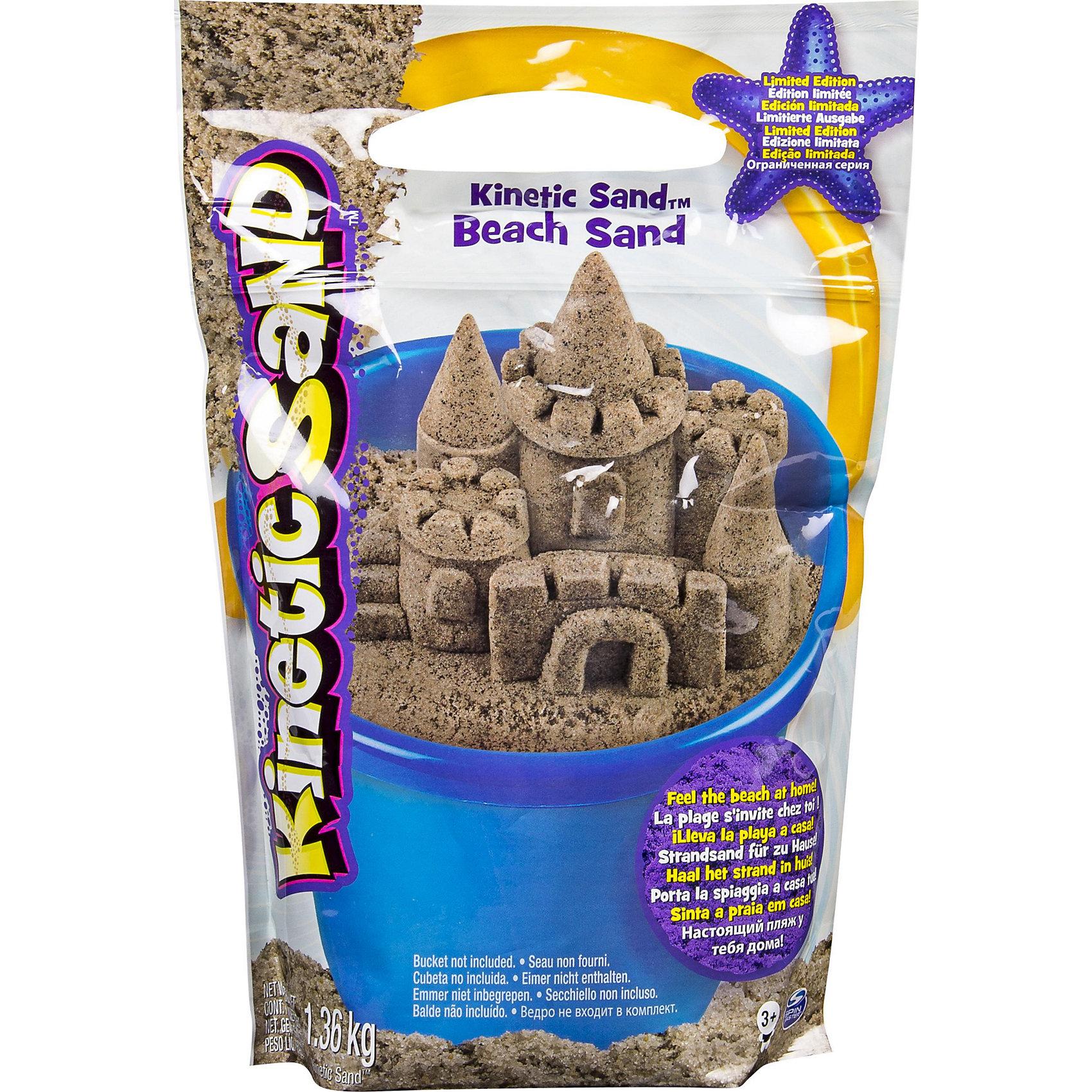 Песок для лепки Kinetic Sand морской песок 1,4 кг коричневыйКинетический песок<br>Характеристики товара:<br><br>• цвет: коричневый<br>• материал: песок<br>• вес: 1,4 г<br>• размер упаковки: 20х8х28 см<br>• не пачкается<br>• можно играть в помещении<br>• упаковка: пакет<br>• возраст: от трех лет<br><br>Лепка из кинетического песка - очень увлекательный вид творчества! С помощью него можно создать множество различных фигурок. Такой песок поможет даеж маленькому ребенку выразить свои творческие способности. Кинетический песок замечателен тем, что он безопасен для детей, не пачкается и не создает трудностей при уборке после игр.<br>Малыш может прямо дома приступить к созданию объемных фигур! Изделие произведено из качественных и безопасных для ребенка материалов. Игра с таким песком помогает развить мышление ребенка, аккуратность, внимательность, мелкую моторику и воображение. Полезный и развивающий подарок!<br><br>Песок для лепки Kinetic Sand морской песок 1,4 кг коричневый можно купить в нашем интернет-магазине.<br><br>Ширина мм: 306<br>Глубина мм: 203<br>Высота мм: 68<br>Вес г: 1400<br>Возраст от месяцев: 36<br>Возраст до месяцев: 72<br>Пол: Унисекс<br>Возраст: Детский<br>SKU: 4648100