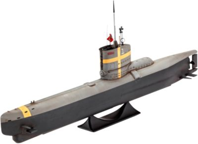 Revell Сборная модель Немецкая Подводная лодка тип XXIII 1:144