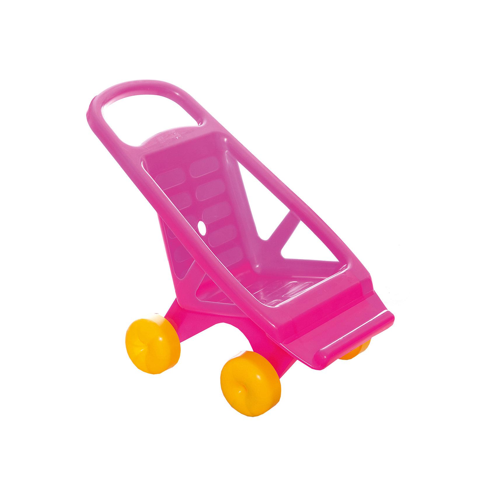 Коляска для кукол, СовтехстромКоляски и транспорт для кукол<br>Симпатичная пластиковая колясочка, в которой ваша малышка сможет возить своих кукол как дома, так и на улице.<br>Коляска выполнена в нежно-розовом цвете и имеет большие желтые колеса. Ручка каталки имеет закругленную форму, ее удобно держать в руках, а широкие бока коляски уберегут куколку от падения. К сидению закреплена широкая подножка.<br><br>Дополнительная информация:<br>Материал: пластмасса.<br>Размер упаковки: 48 х 44 х 28 см.<br><br>Коляску для кукол, Совтехстром можно купить в нашем интернет-магазине.<br><br>Ширина мм: 100<br>Глубина мм: 140<br>Высота мм: 700<br>Вес г: 800<br>Возраст от месяцев: 24<br>Возраст до месяцев: 84<br>Пол: Женский<br>Возраст: Детский<br>SKU: 4651481