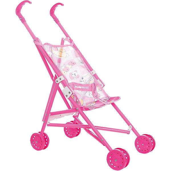 Летняя коляска-трость для кукол, пластмассоваяТранспорт и коляски для кукол<br><br>Ширина мм: 250; Глубина мм: 360; Высота мм: 540; Вес г: 300; Возраст от месяцев: 24; Возраст до месяцев: 84; Пол: Женский; Возраст: Детский; SKU: 4651483;