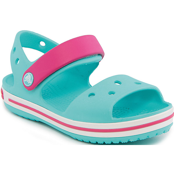 Купить Сандалии Crocband™ Sandal Kids Crocs, Китай, голубой, 21, 29, 27, 28, 30, 22, 23, 25, 26, 33/34, 34/35, 31/32, 24, Унисекс