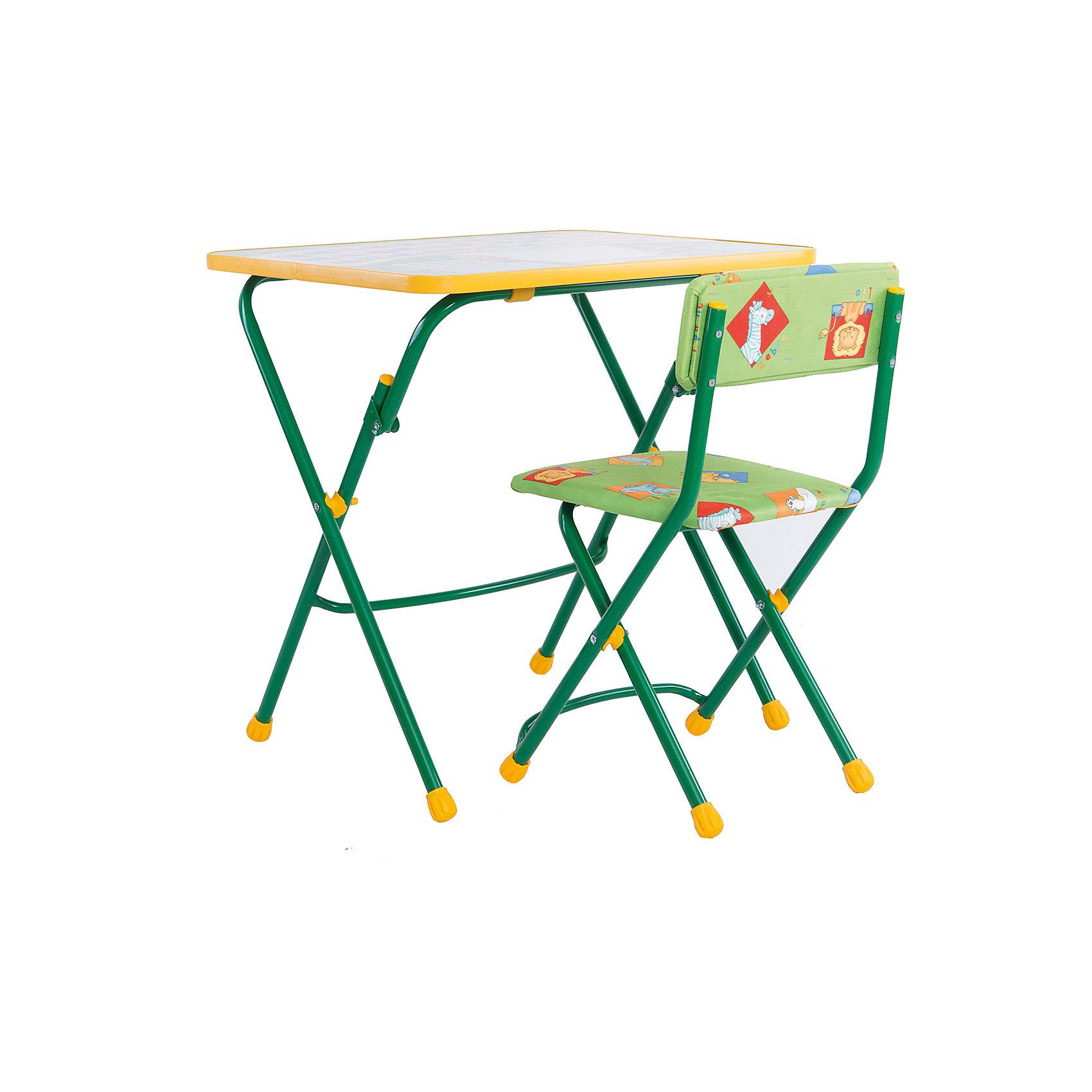 Ника Набор мебели Первоклашка (зелёный) набор мебели для детской индиго 1