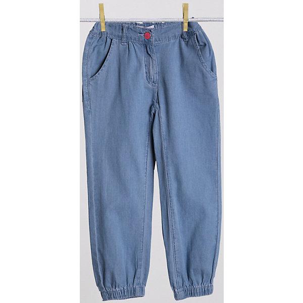 Брюки для девочки PlayTodayБрюки<br>Легкие джинсовые брюки из чистого хлопка. Пояс и низ штанишек на резинке. Застегиваются на молнию и металлическую пуговицу. Есть два кармашка. Состав: 100% хлопок<br>Ширина мм: 215; Глубина мм: 88; Высота мм: 191; Вес г: 336; Цвет: голубой; Возраст от месяцев: 72; Возраст до месяцев: 84; Пол: Женский; Возраст: Детский; Размер: 122,104,110,116,128,98; SKU: 4652407;