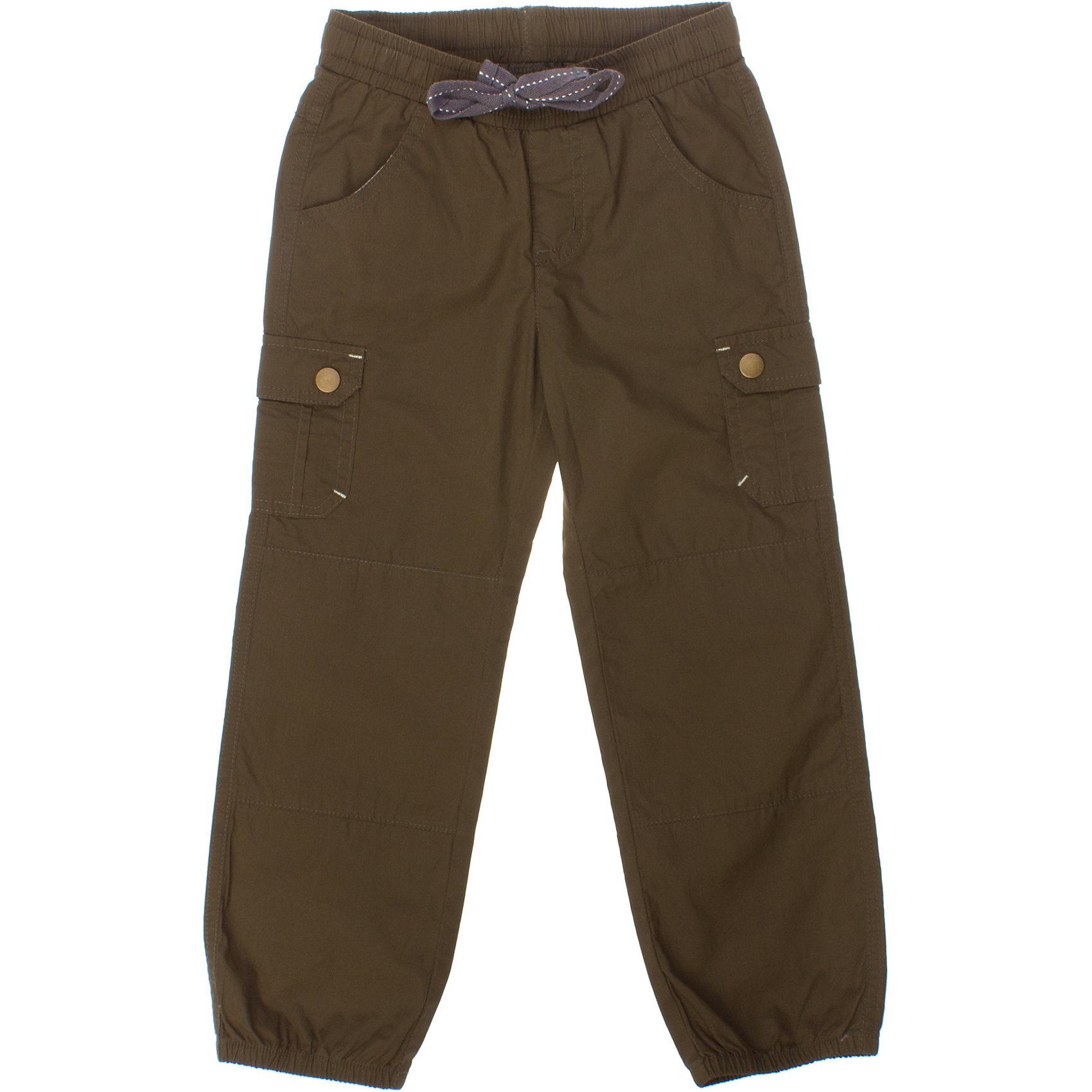 Брюки для мальчика PlayTodayЛегкие хлопковые брюки цвета хаки. Есть целых 6 кармашков для маленьких первооткрывателей. Пояс на резинке, дополнительно регулируется шнурком. Низ штанишек на резинке. Состав: 100% хлопок<br><br>Ширина мм: 215<br>Глубина мм: 88<br>Высота мм: 191<br>Вес г: 336<br>Цвет: хаки<br>Возраст от месяцев: 60<br>Возраст до месяцев: 72<br>Пол: Мужской<br>Возраст: Детский<br>Размер: 116,128,98,122,110,104<br>SKU: 4652435