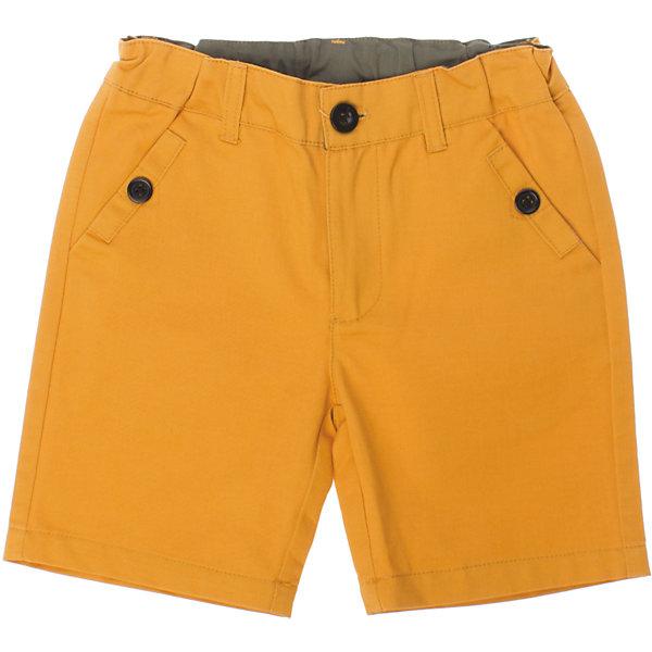Шорты для мальчика PlayTodayШорты, бриджи, капри<br>Яркие хлопковые шорты поднимут настроение маленькому первооткрывателю. Есть два глубоких кармана. Застегиваются на молнию и металлическую пуговку. Сзади - декоративные кармашки. Состав: 100% хлопок<br>Ширина мм: 191; Глубина мм: 10; Высота мм: 175; Вес г: 273; Цвет: желтый; Возраст от месяцев: 24; Возраст до месяцев: 36; Пол: Мужской; Возраст: Детский; Размер: 98,122,128,116,110,104; SKU: 4652442;