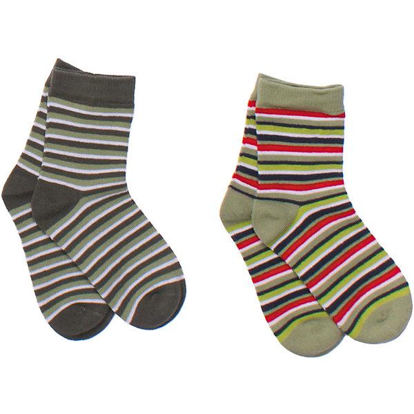 Носки (2 шт.) для мальчика PlayTodayНоски<br>Комплект из двух пар полосатых носочков. Верх на мягкой резинке. Состав: 75% хлопок, 22% нейлон, 3% эластан<br><br>Ширина мм: 87<br>Глубина мм: 10<br>Высота мм: 105<br>Вес г: 115<br>Цвет: разноцветный<br>Возраст от месяцев: 15<br>Возраст до месяцев: 24<br>Пол: Мужской<br>Возраст: Детский<br>Размер: 14,18,16<br>SKU: 4652587