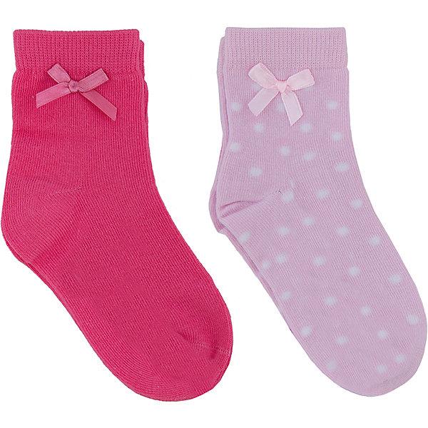 Носки для девочки PlayTodayНоски<br>Мягкие хлопковые носочки с фактурной выработкой ромбиком. Верх украшен кружевами и атласным батиком. Состав: 75% хлопок, 22% нейлон, 3% эластан<br>Ширина мм: 87; Глубина мм: 10; Высота мм: 105; Вес г: 115; Цвет: белый; Возраст от месяцев: 15; Возраст до месяцев: 24; Пол: Женский; Возраст: Детский; Размер: 14,16,18; SKU: 4652743;