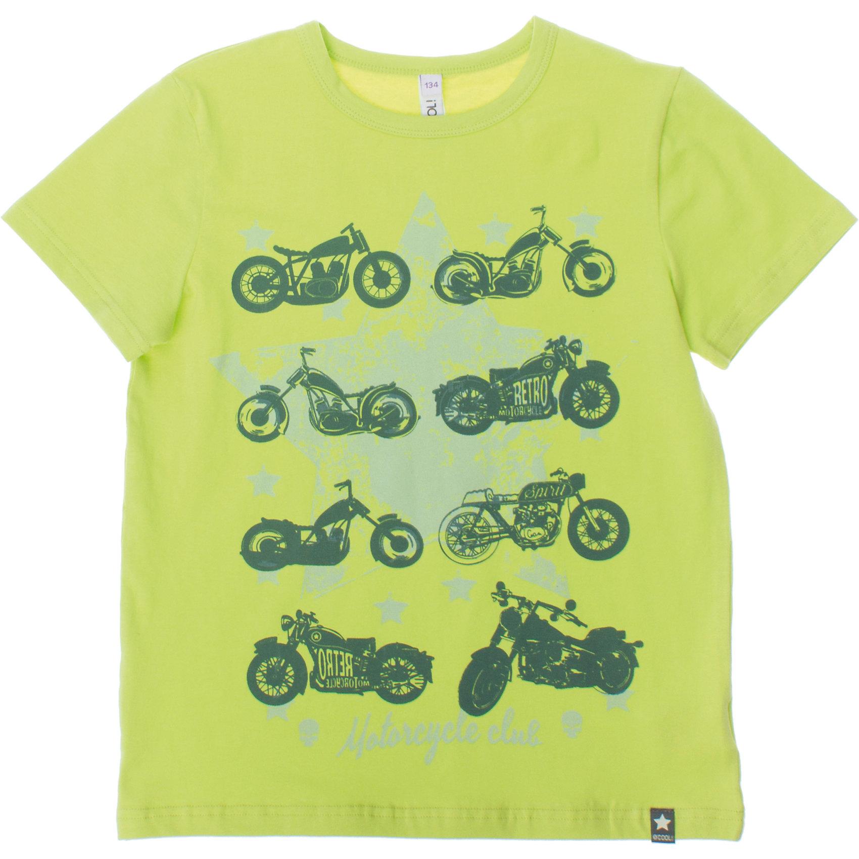 Футболка для мальчика ScoolФутболки, поло и топы<br>Мягкая хлопковая футболка с мотоциклами. Стильный серо-зеленый цвет. Воротник на мягкой резинке. Состав: 95% хлопок, 5% эластан<br><br>Ширина мм: 199<br>Глубина мм: 10<br>Высота мм: 161<br>Вес г: 151<br>Цвет: серый<br>Возраст от месяцев: 132<br>Возраст до месяцев: 144<br>Пол: Мужской<br>Возраст: Детский<br>Размер: 152,158,134,140,146,164<br>SKU: 4652785