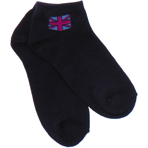 Носки для мальчика ScoolНоски<br>Мягкие хлопковые носки темно-синего цвета. Украшены британским флагом сверху. Состав: 75% хлопок, 22% нейлон, 3% эластан<br>Ширина мм: 87; Глубина мм: 10; Высота мм: 105; Вес г: 115; Цвет: синий; Возраст от месяцев: 9; Возраст до месяцев: 12; Пол: Мужской; Возраст: Детский; Размер: 20,24,22; SKU: 4652827;