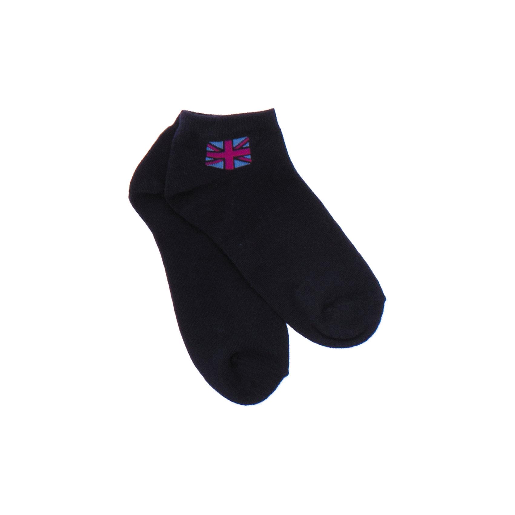 Носки для мальчика ScoolМягкие хлопковые носки темно-синего цвета. Украшены британским флагом сверху. Состав: 75% хлопок, 22% нейлон, 3% эластан<br><br>Ширина мм: 87<br>Глубина мм: 10<br>Высота мм: 105<br>Вес г: 115<br>Цвет: синий<br>Возраст от месяцев: 9<br>Возраст до месяцев: 12<br>Пол: Мужской<br>Возраст: Детский<br>Размер: 20,24,22<br>SKU: 4652827