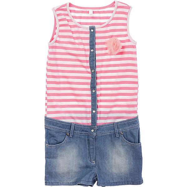 Полукомбинезон джинсовый для девочки S'cool