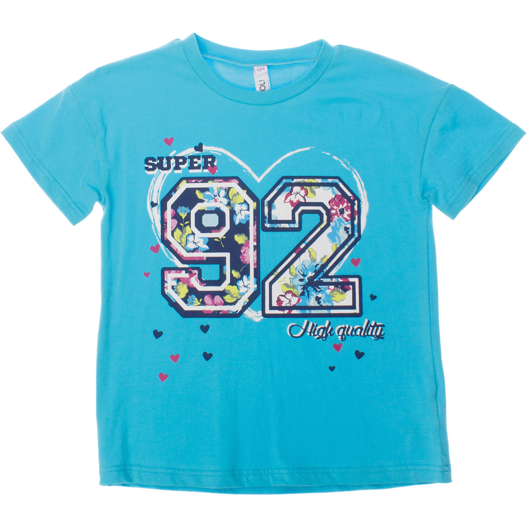 Футболка для девочки ScoolФутболки, поло и топы<br>Мягкая укороченная футболка для жаркого лета. Украшена резиновым принтом с цветочным узором. Состав: 95% хлопок, 5% эластан<br><br>Ширина мм: 199<br>Глубина мм: 10<br>Высота мм: 161<br>Вес г: 151<br>Цвет: голубой<br>Возраст от месяцев: 120<br>Возраст до месяцев: 132<br>Пол: Женский<br>Возраст: Детский<br>Размер: 146,140,134,152,164,158<br>SKU: 4652880