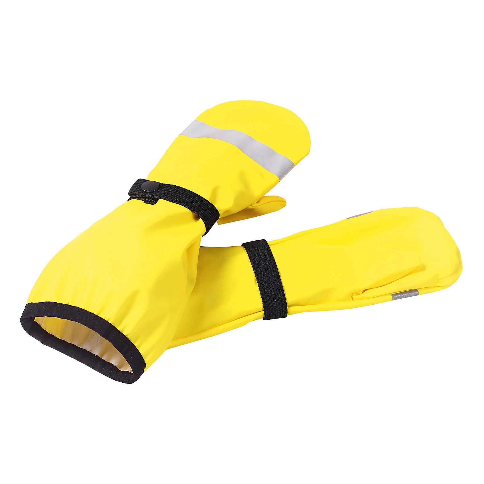 Варежки ReimaВарежки от финской марки Reima.<br>Непромокаемые варежки для малышей. Запаянные швы, не пропускающие влагу. Эластичный материал. Без подкладки.<br>Состав:<br>100% ПЭ, ПУ-покрытие<br><br>Ширина мм: 162<br>Глубина мм: 171<br>Высота мм: 55<br>Вес г: 119<br>Цвет: желтый<br>Возраст от месяцев: 24<br>Возраст до месяцев: 48<br>Пол: Унисекс<br>Возраст: Детский<br>Размер: 3,2,1<br>SKU: 4653102