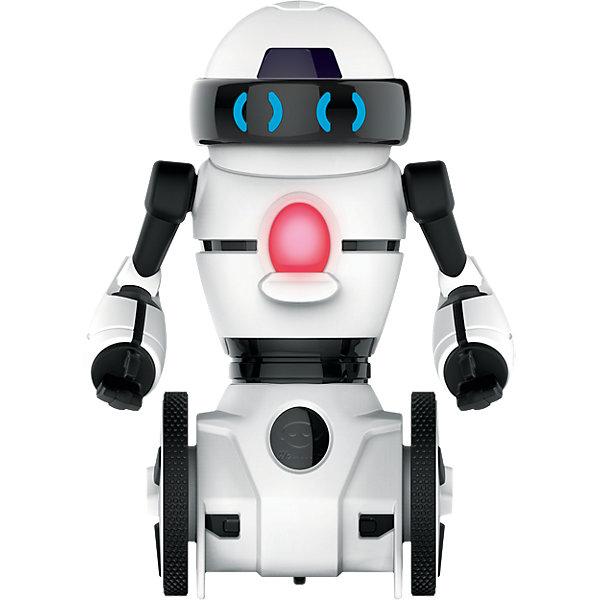 Мини-робот Wow Wee МипРоботы<br>Характеристики товара:<br><br>• возраст: от 4 лет;<br>• материал: пластик;<br>• в комплекте: робот, пульт, инструкция;<br>• тип батареек: 2 батарейки ААА;<br>• наличие батареек: в комплект не входят;<br>• высота робота: 11,5 см;<br>• время работы: 1,5 часа;<br>• размер упаковки: 20х14х9 см;<br>• вес упаковки: 270 гр.<br><br>Мини робот Wow Wee Мип — уменьшенная копия известного робота Мип. Управление им происходит при помощи пульта. Робот умеет двигаться вперед и вращаться. Во время игры у него горят глаза.<br><br>Мини робота Wow Wee Мип можно приобрести в нашем интернет-магазине.<br>Ширина мм: 229; Глубина мм: 167; Высота мм: 111; Вес г: 273; Возраст от месяцев: 60; Возраст до месяцев: 120; Пол: Мужской; Возраст: Детский; SKU: 4654156;