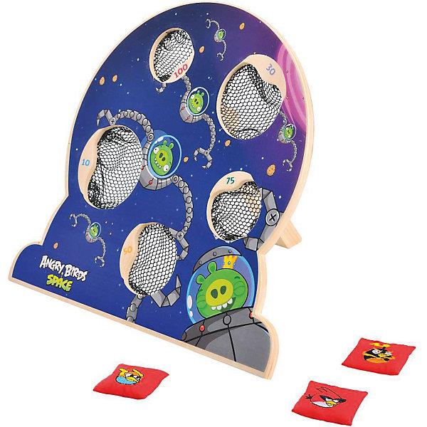 Деревянная игра Angry Birds, 1ToyAngry Birds<br>Деревянная игра Angry Birds, 1Toy – это веселая игра по мотивам популярной компьютерной игры.<br>Настольная игра, изготовленная по лицензии Angry Birds Space, это увлекательное соревнование для вашего ребенка и его друзей. На деревянном щитке обозначены 5 мишеней разного размера с сетками-ловушками, в которые нужно забрасывать мешочки с изображениями знаменитых птиц. На коробке есть более подробная инструкция, как играть. Игра развивает физическую силу, целеустремленность, силу воли, коммуникабельность.<br><br>Дополнительная информация:<br><br>- В наборе: щиток на подставке с 5 сетками, мешочки с гранулами 5 штук<br>- Материал: древесина, текстиль<br>- Размер щитка: 31,5 х 8 х 29 см.<br>- Размер мешочков: 4 х 4 х 6 см.<br>- Размер упаковки: 32,5х8х30 см.<br>- Вес в упаковке: 917 гр.<br><br>Деревянную игру Angry Birds, 1Toy можно купить в нашем интернет-магазине.<br>Ширина мм: 325; Глубина мм: 80; Высота мм: 300; Вес г: 917; Возраст от месяцев: 48; Возраст до месяцев: 120; Пол: Унисекс; Возраст: Детский; SKU: 4655095;