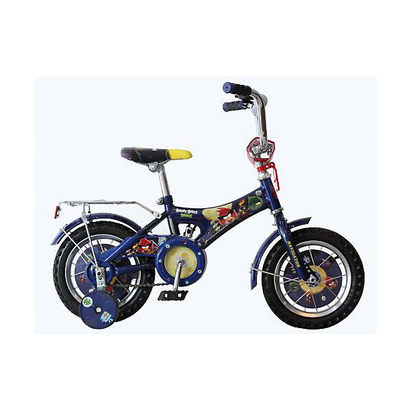 Велосипед Angry Birds, синий, NavigatorВелосипеды детские<br>Велосипед Angry Birds, красный, Navigator (Навигатор) – это яркий, стильный, надежный велосипед высокого качества.<br>Велосипед Angry Birds  - это мечта любого ребенка, ведь на нем нарисованы любимые герои из компьютерной игры. Он идеален для тех, кто только учится кататься и не умеет держать равновесие. Рама велосипеда выполнена из высокопрочного металла. Покрытие рамы устойчиво к царапинам. Руль достаточно подвижный и позволяет быстро сориентироваться с управлением. Мягкая накладка на руле обеспечит небольшое смягчение при падении на руль. На ручках руля нескользящее покрытие. Велосипед имеет дополнительные страховочные колеса, защиту цепи, стальные обода для защиты от брызг, удобное сиденье эргономичной формы, звонок, задний багажник. Основные колеса декорированы яркими вставками. Сиденье и руль регулируются по высоте. Светоотражатели прикреплены впереди и сзади. Катание на велосипеде поможет ребенку укрепить опорно-двигательную и сердечно-сосудистую системы.<br><br>Дополнительная информация:<br><br>- Возрастная категория: от 4 до 6 лет<br>- Подходит для детей ростом 100-125 см.<br>- Диаметр колес: 14 дюймов)<br>- Односоставной шатун<br>- Тормоз: ножной<br>- Рама: AB-1-тип<br>- Материал рамы: сталь<br>- Цвет: синий<br>- Вес в упаковке: 10,5 кг.<br><br>Велосипед Angry Birds, красный, Navigator (Навигатор) можно купить в нашем интернет-магазине.<br><br>Ширина мм: 170<br>Глубина мм: 805<br>Высота мм: 405<br>Вес г: 10500<br>Возраст от месяцев: 48<br>Возраст до месяцев: 120<br>Пол: Унисекс<br>Возраст: Детский<br>SKU: 4655145