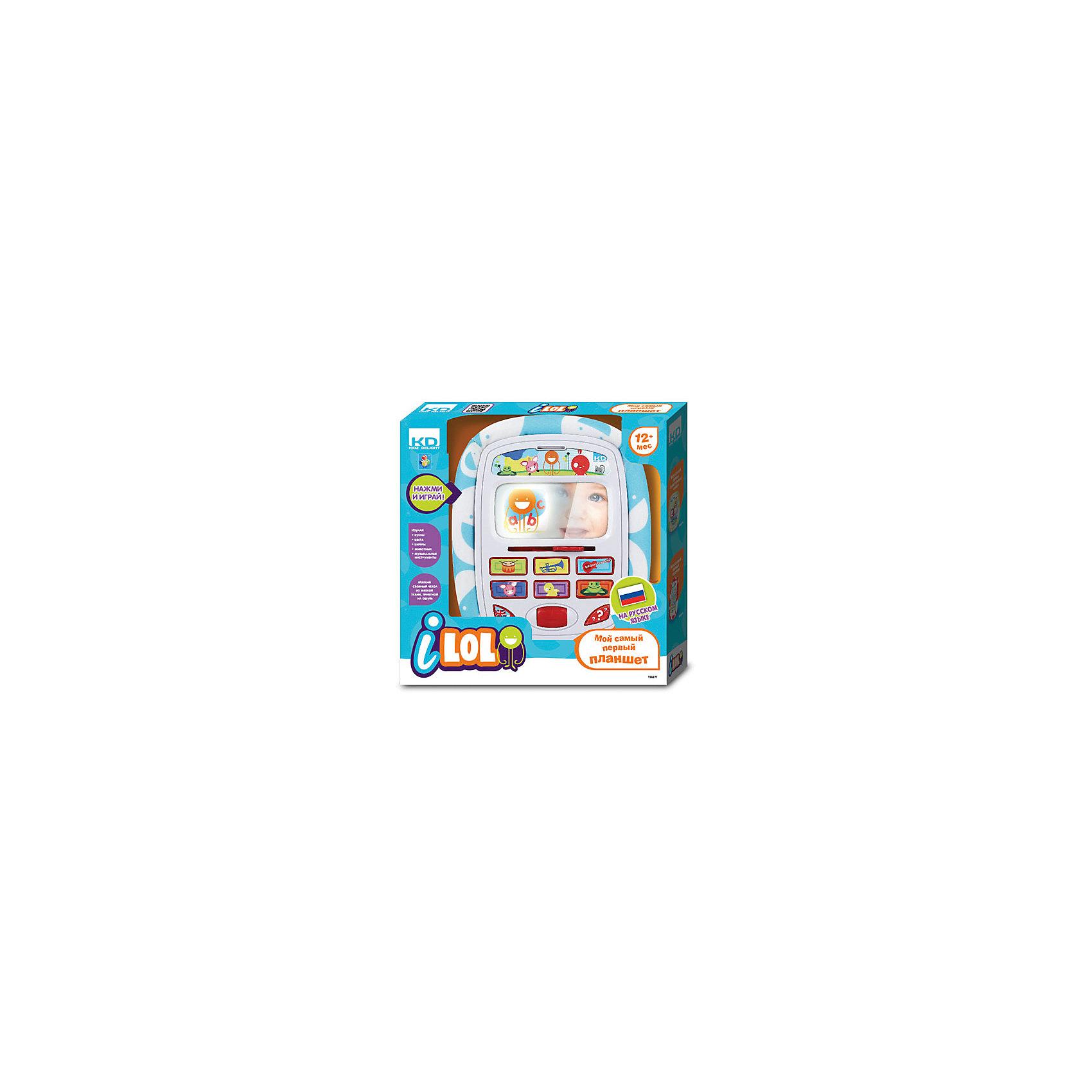 - Мини-планшет Kidz Delight для малышей, 1Toy планшет в саяногорске