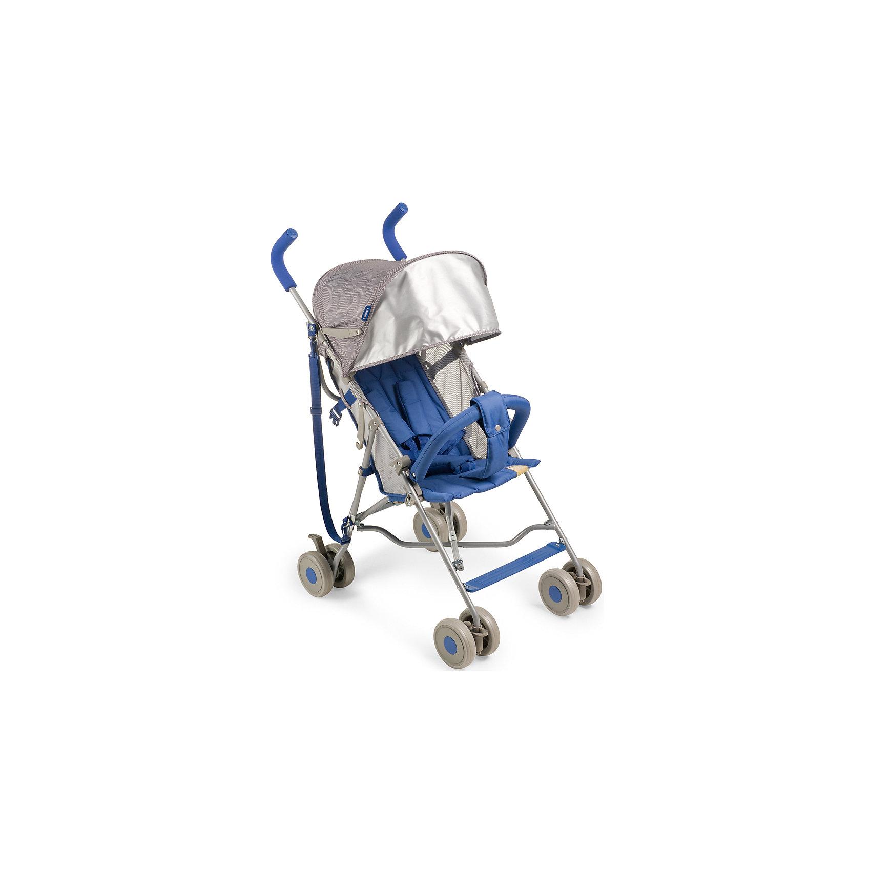 Коляска-трость Twiggy, Happy Baby, голубойКоляска TWIGGY создана специально для тех, кто ценит максимальный комфорт при минимальном весе. Отличный ход обеспечивают сдвоенные колеса, из которых передние поворотные на 360? с возможностью фиксации. Передние колеса с амортизацией, что дает дополнительный комфорт для ребенка. При весе всего 4,35 кг TWIGGY имеет пятиточечные ремни безопасности, мягкие нескользящие ручки, съемный бампер, большой капюшон с возможностью увеличения, ремень для переноски, подстаканник.<br><br>Дополнительная информация:<br><br>Максимальный вес ребенка: 15 кг<br>В разложенном виде ДхШхВ: 74х51х98 см<br>В сложенном виде ДхШхВ: 109х29х34 см<br>Вес коляски: 4,35 кг<br>Ширина сиденья: 30 см<br>Глубина сиденья: 26 см<br>Длина спального места: 69 см<br>Ширина колесной базы: 51 см<br>Диаметр колес: 13 см<br>Кол-во положений спинки: 2 положения<br>Регулировка ручки: отсутствует<br>Регулировка подножки: отсутствует<br>Передние поворотные колеса с возможностью фиксации<br>Тип складывания: трость<br>В комплекте:, ремень для переноски, подстаканник<br><br>Коляску-трость Twiggy, Happy Baby, голубую можно купить в нашем магазине.<br><br>Ширина мм: 305<br>Глубина мм: 190<br>Высота мм: 1130<br>Вес г: 6800<br>Цвет: голубой<br>Возраст от месяцев: 7<br>Возраст до месяцев: 36<br>Пол: Унисекс<br>Возраст: Детский<br>SKU: 4655665