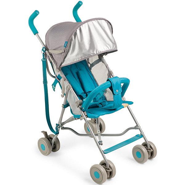 Коляска-трость Happy Baby Twiggy, бирюзовыйКоляски-трости<br>Коляска TWIGGY создана специально для тех, кто ценит максимальный комфорт при минимальном весе. Отличный ход обеспечивают сдвоенные колеса, из которых передние поворотные на 360? с возможностью фиксации. Передние колеса с амортизацией, что дает дополнительный комфорт для ребенка. При весе всего 4,35 кг TWIGGY имеет пятиточечные ремни безопасности, мягкие нескользящие ручки, съемный бампер, большой капюшон с возможностью увеличения, ремень для переноски, подстаканник.<br><br>Дополнительная информация:<br><br>Максимальный вес ребенка: 15 кг<br>В разложенном виде ДхШхВ: 74х51х98 см<br>В сложенном виде ДхШхВ: 109х29х34 см<br>Вес коляски: 4,35 кг<br>Ширина сиденья: 30 см<br>Глубина сиденья: 26 см<br>Длина спального места: 69 см<br>Ширина колесной базы: 51 см<br>Диаметр колес: 13 см<br>Кол-во положений спинки: 2 положения<br>Регулировка ручки: отсутствует<br>Регулировка подножки: отсутствует<br>Передние поворотные колеса с возможностью фиксации<br>Тип складывания: трость<br>В комплекте:, ремень для переноски, подстаканник<br><br>Коляску-трость Twiggy, Happy Baby, бирюзовую можно купить в нашем магазине.<br><br>Ширина мм: 305<br>Глубина мм: 190<br>Высота мм: 1130<br>Вес г: 6800<br>Цвет: бирюзовый<br>Возраст от месяцев: 7<br>Возраст до месяцев: 36<br>Пол: Унисекс<br>Возраст: Детский<br>SKU: 4655666
