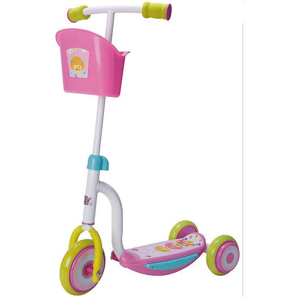 Самокат ТТ Kids Scooter-2, розовыйСамокаты<br>Самокат TT Scooter-2 1/4 розовый от марки Tech Team<br><br>Яркий удобный самокат - мечта большинства детей на это лето. Он позволит не только отлично проводить время, но и поддерживать здоровую физическую форму. Эта модель выполнена в яркой расцветке: розовый и белый тона. <br>Нога ребенка располагается на удобной поверхности, что обеспечивает безопасность езды на самокате. Не забудьте обеспечить ребенка налокотниками и наколенниками. Выполненные в стильном дизайне, они станут отличным элементом модного образа ребенка. Для детей от трех лет.<br><br>Отличительные особенности модели:<br><br>материал: сталь;<br>цвет: розовый, белый;<br>размер платформы: 34 x 9,4 см;<br>материал ручки: сталь;<br>размер переднего колеса: 140 х 24 мм;<br>размер задних колес: 120 х 24 мм.<br><br>Самокат TT Scooter-2 1/4 розовый от марки Tech Team можно купить в нашем магазине.<br>Ширина мм: 580; Глубина мм: 480; Высота мм: 290; Вес г: 3000; Возраст от месяцев: 36; Возраст до месяцев: 60; Пол: Женский; Возраст: Детский; SKU: 4657069;
