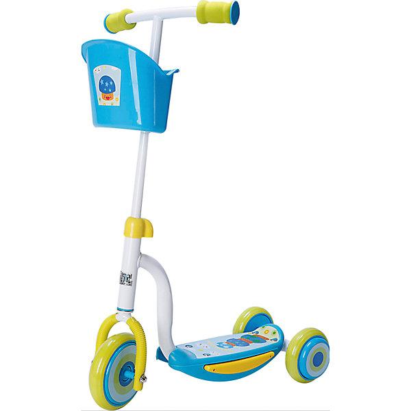 Самокат ТТ Kids Scooter-2, голубойСамокаты<br>Самокат TT Scooter-2 1/4 голубой от марки Tech Team<br><br>Яркий удобный самокат - мечта большинства детей на это лето. Он позволит не только отлично проводить время, но и поддерживать здоровую физическую форму. Эта модель выполнена в яркой расцветке: голубой и белый тона. <br>Нога ребенка располагается на удобной поверхности, что обеспечивает безопасность езды на самокате. Не забудьте обеспечить ребенка налокотниками и наколенниками. Выполненные в стильном дизайне, они станут отличным элементом модного образа ребенка. Для детей от трех лет.<br><br>Отличительные особенности модели:<br><br>материал: сталь;<br>цвет: голубой, белый;<br>размер платформы: 34 x 9,4 см;<br>материал ручки: сталь;<br>размер переднего колеса: 140 х 24 мм;<br>размер задних колес: 120 х 24 мм.<br><br>Самокат TT Scooter-2 1/4 голубой от марки Tech Team можно купить в нашем магазине.<br><br>Ширина мм: 580<br>Глубина мм: 480<br>Высота мм: 290<br>Вес г: 3000<br>Возраст от месяцев: 36<br>Возраст до месяцев: 60<br>Пол: Мужской<br>Возраст: Детский<br>SKU: 4657070