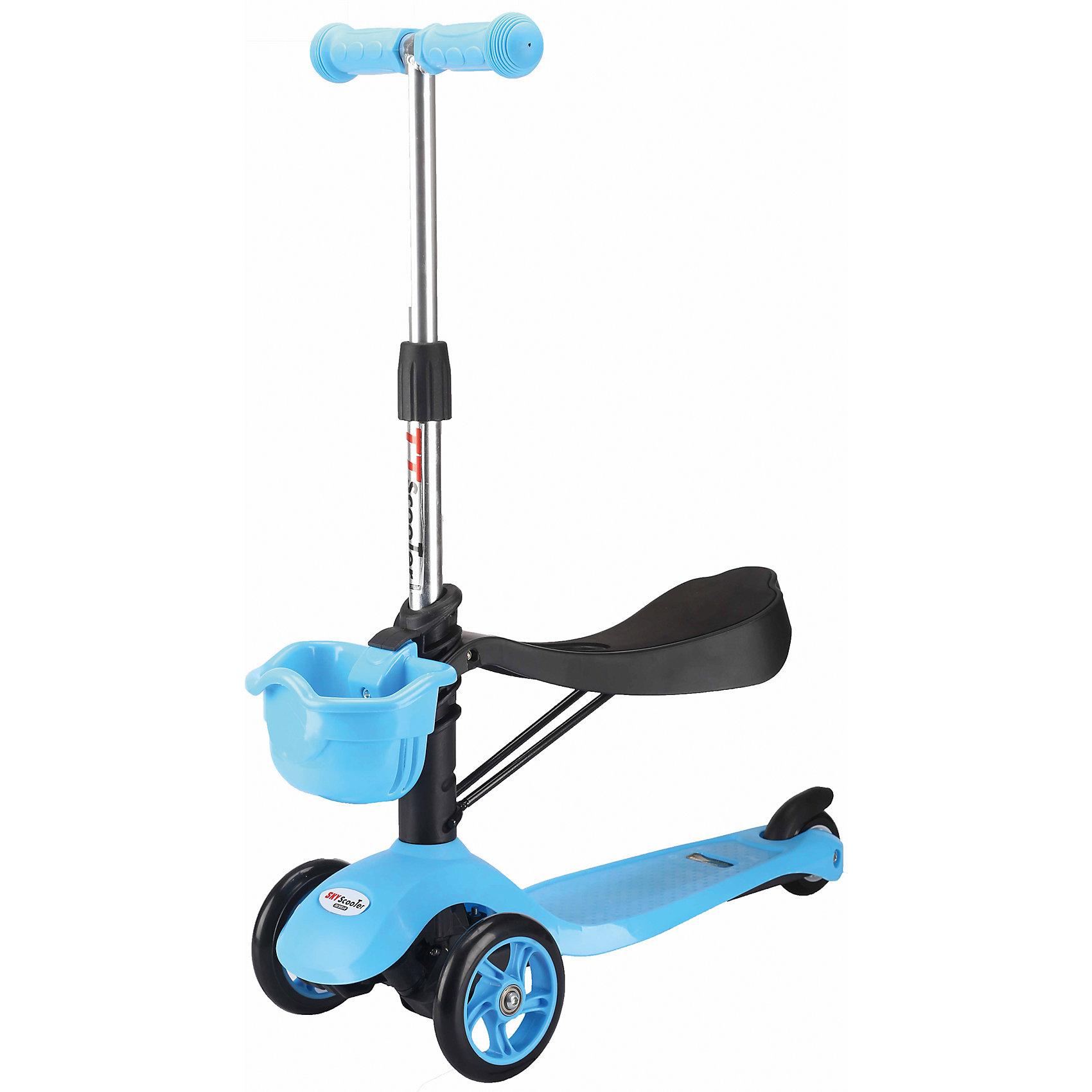 Самокат TT Sky Scooter, голубой