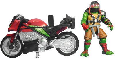 - Мотоцикл с фигуркой Рафа, Черепашки Ниндзя