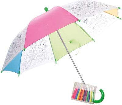 Origami Зонтик для раскрашивания Фиксики фото-1