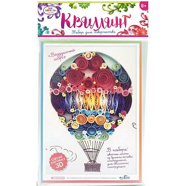 Набор для квиллинга «Воздушный шар»Бумага<br>Набор для квиллинга «Воздушный шар» от марки Origami<br><br>Отличный подарок для ребенка - набор для творчества. Он поможет самостоятельно сделать объемную аппликацию из бумаги. Делается это очень просто, а в результате получается красивая картина. <br>В процессе у ребенка развивается воображение, художественный вкус и мелкая моторика. Получившийся результат поможет ему поверить в свои силы! Набор сделан из безопасных для ребенка материалов.<br><br>Особенности изделия:<br><br>состав - бумага, картон, дерево;<br>цвет - разноцветный;<br>упаковка - конверт с хедером;<br>размер упаковки - 0.5 x 36 x 21.5 см.<br><br>Комплектация: <br><br>основа-шаблон;<br>разноцветные бумажные ленты для квиллинга);<br>палочка для накручивания.<br><br>Набор для квиллинга «Воздушный шар» от марки Origami можно купить в нашем магазине.<br>Ширина мм: 215; Глубина мм: 360; Высота мм: 5; Вес г: 23; Возраст от месяцев: 96; Возраст до месяцев: 192; Пол: Женский; Возраст: Детский; SKU: 4658557;