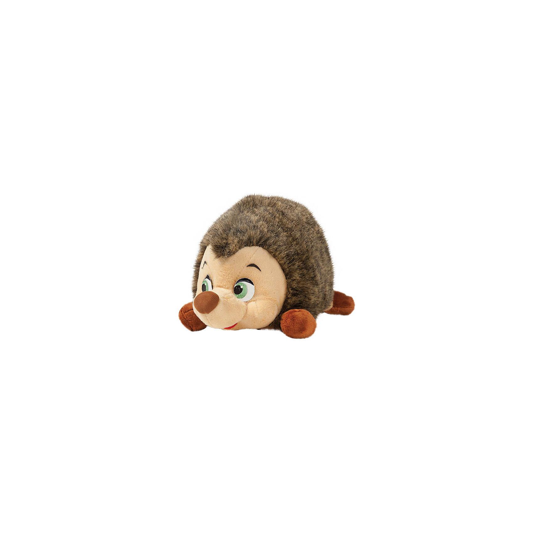 Мягкая игрушка Ежик, 25 см, со звуком, Маша и Медведь, МУЛЬТИ-ПУЛЬТИМягкая игрушка Ежик со звуком от марки МУЛЬТИ-ПУЛЬТИ<br><br>Интерактивная  мягкая игрушка от отечественного производителя поможет ребенку проводить время весело и с пользой. Она сделана в виде Ёжика из известного любимого детьми мультфильма. В игрушке есть встроенный звуковой модуль, работающий на батарейках.<br>Размер игрушки универсален - 25 сантиметров, её удобно брать с собой в поездки и на прогулку. Сделана она из качественных и безопасных для ребенка материалов. <br><br>Отличительные особенности игрушки:<br><br>- материал: текстиль, пластик;<br>- звуковой модуль;<br>- язык: русский;<br>- работает на батарейках;<br>- высота: 25 см.<br><br>Мягкую игрушку Ежик со звуком от марки МУЛЬТИ-ПУЛЬТИ можно купить в нашем магазине.<br><br>Ширина мм: 520<br>Глубина мм: 520<br>Высота мм: 420<br>Вес г: 330<br>Возраст от месяцев: 36<br>Возраст до месяцев: 84<br>Пол: Унисекс<br>Возраст: Детский<br>SKU: 4659472