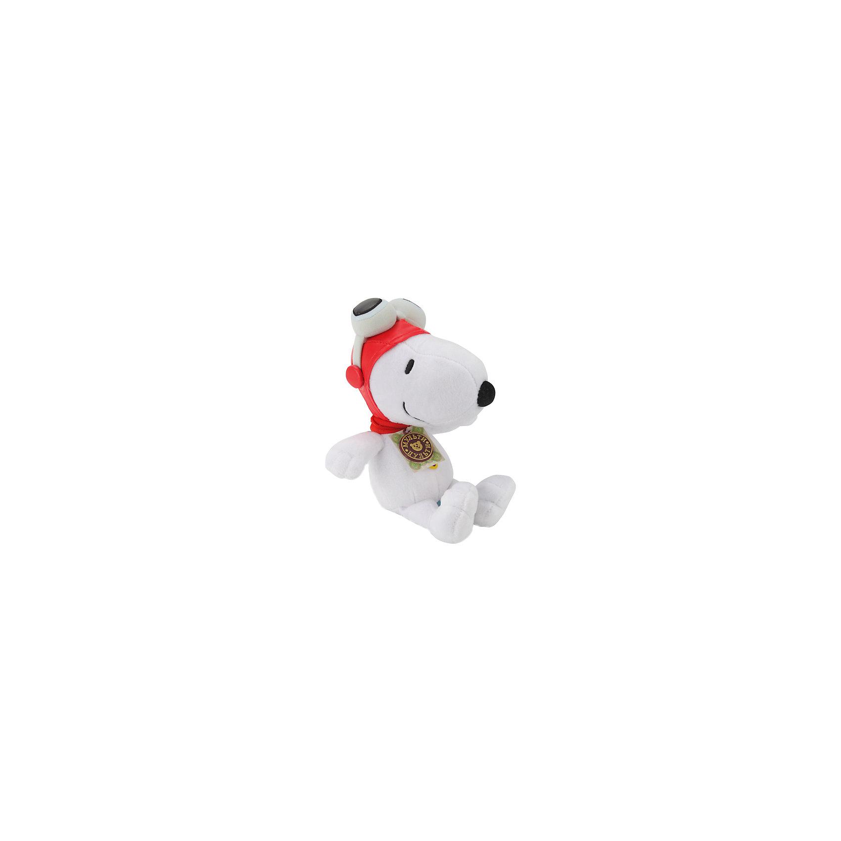 МУЛЬТИ-ПУЛЬТИ Мягкая игрушка  Снупи, 23 см, со звуком, МУЛЬТИ-ПУЛЬТИ мульти пульти коза дереза 23 см со звуком мульти пульти