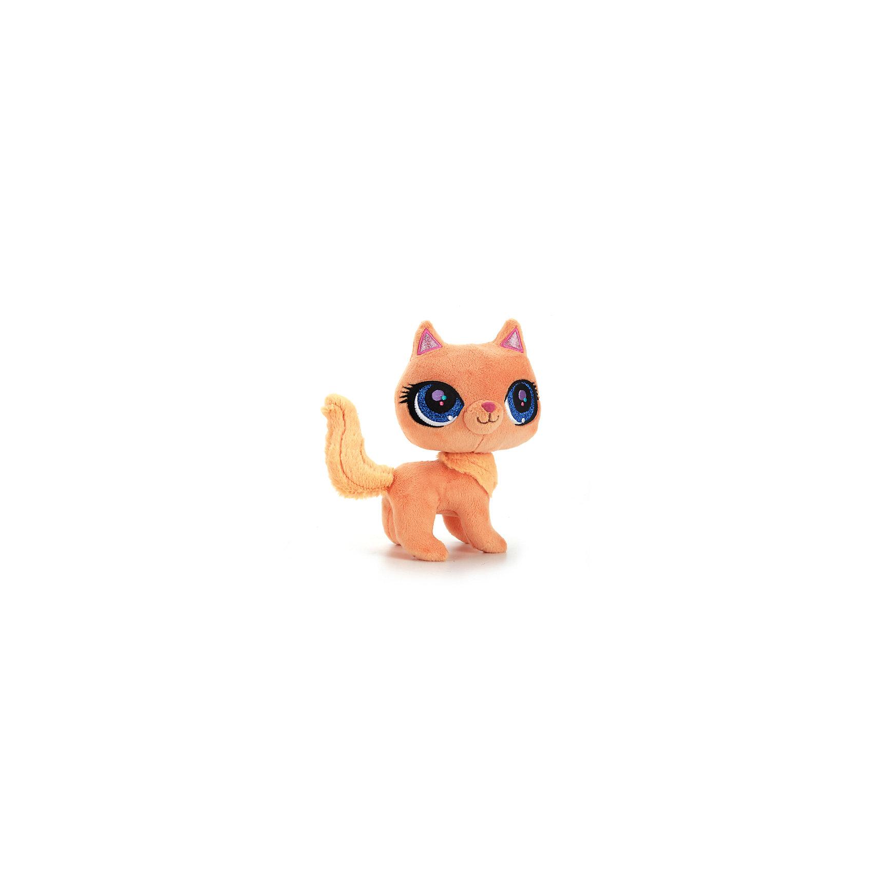 МУЛЬТИ-ПУЛЬТИ Мягкая игрушка  Рыжая кошка, 17 см, со звуком,  МУЛЬТИ-ПУЛЬТИ мульти пульти мягкая игрушка серый мышонок 23 см со звуком кот леопольд мульти пульти