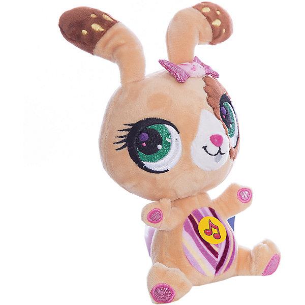 Мягкая игрушка  Кролик, 17 см, со звуком, МУЛЬТИ-ПУЛЬТИМузыкальные мягкие игрушки<br>Мягкая игрушка Кролик со звуком от марки МУЛЬТИ-ПУЛЬТИ<br><br>Очаровательная мягкая игрушка от отечественного производителя сделана в виде симпатичного кролика. Она поможет ребенку проводить время весело и с пользой. В игрушке есть встроенный звуковой модуль, работающий на батарейках.<br>Размер игрушки универсален - 17 сантиметров, её удобно брать с собой в поездки и на прогулку. Сделана она из качественных и безопасных для ребенка материалов, которые еще и приятны на ощупь. <br><br>Отличительные особенности  игрушки:<br><br>- материал: текстиль, пластик;<br>- звуковой модуль;<br>- язык: русский;<br>- работает на батарейках;<br>- высота: 17 см.<br><br>Мягкую игрушку Кролик от марки МУЛЬТИ-ПУЛЬТИ можно купить в нашем магазине.<br>Ширина мм: 380; Глубина мм: 380; Высота мм: 200; Вес г: 100; Возраст от месяцев: 36; Возраст до месяцев: 84; Пол: Унисекс; Возраст: Детский; SKU: 4659487;