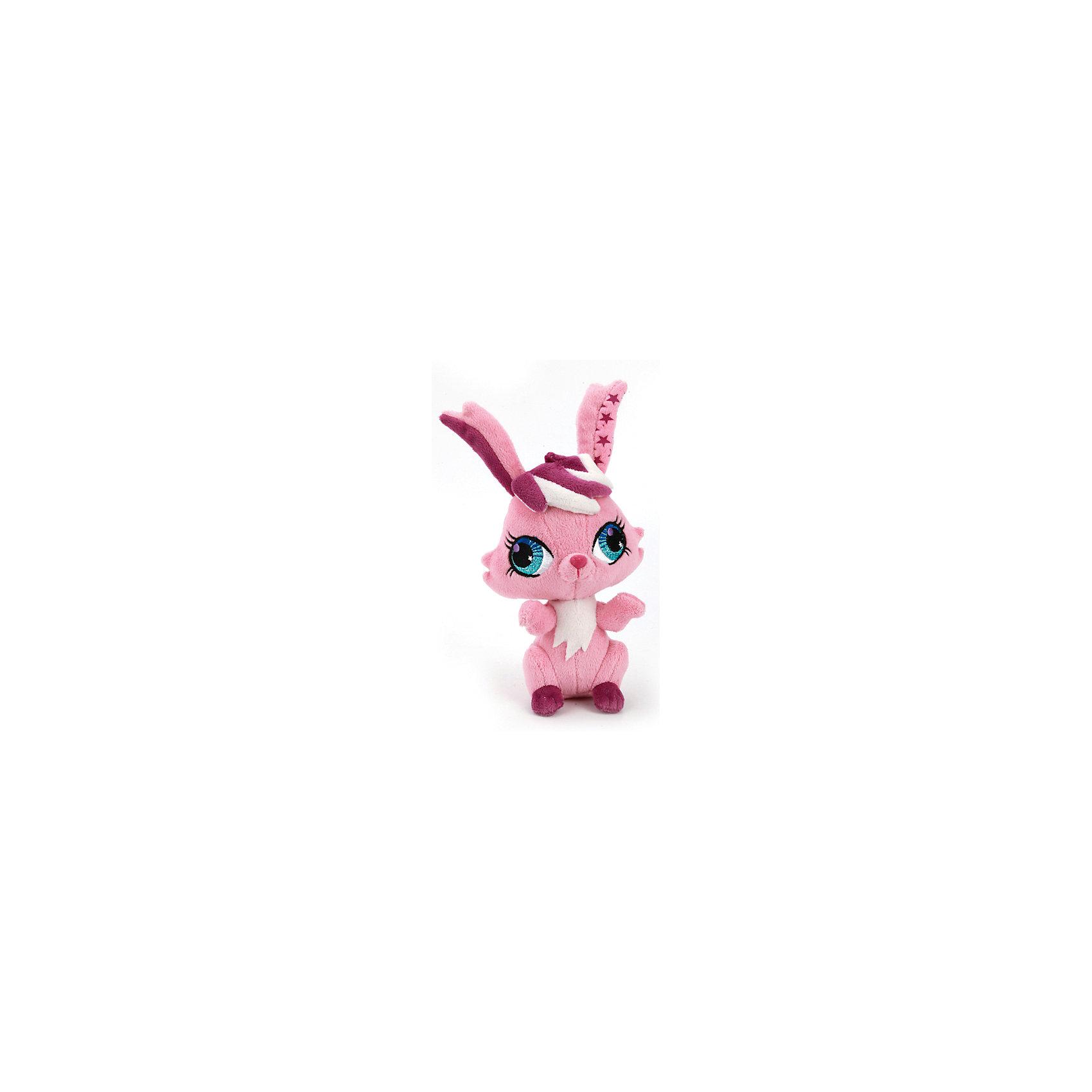 МУЛЬТИ-ПУЛЬТИ Мягкая игрушка  Кролик, 16 см, со звуком, МУЛЬТИ-ПУЛЬТИ мульти пульти мягкая игрушка серый мышонок 23 см со звуком кот леопольд мульти пульти