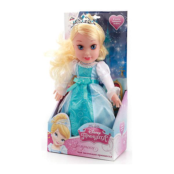 Кукла Золушка, 30 см, со звуком, Disney Princess, МУЛЬТИ-ПУЛЬТИМузыкальные мягкие игрушки<br>Кукла Золушка со звуком от марки МУЛЬТИ-ПУЛЬТИ<br><br>Озвученная кукла от отечественного производителя поможет ребенку проводить время весело и с пользой. Она сделана в виде принцессы из известной любимой детьми сказки. Нажав на нее, ребенок услышит разные фразы и песню. Золушка умеет моргать.<br>Размер куклы универсален - 30 сантиметров, её удобно брать с собой в поездки и на прогулку. Сделана игрушка из качественных и безопасных для ребенка материалов: тело - мягкое, голова - пластмассовая. <br><br>Отличительные особенности игрушки:<br><br>- материал: текстиль, наполнитель, пластик, металл;<br>- звуковой модуль;<br>- язык: русский;<br>- моргает;<br>- работает на батарейках;<br>- упаковка: коробка;<br>- высота: 30 см.<br><br>Куклу Золушка со звуком от марки МУЛЬТИ-ПУЛЬТИ можно купить в нашем магазине.<br>Ширина мм: 650; Глубина мм: 380; Высота мм: 750; Вес г: 430; Возраст от месяцев: 36; Возраст до месяцев: 84; Пол: Женский; Возраст: Детский; SKU: 4659498;