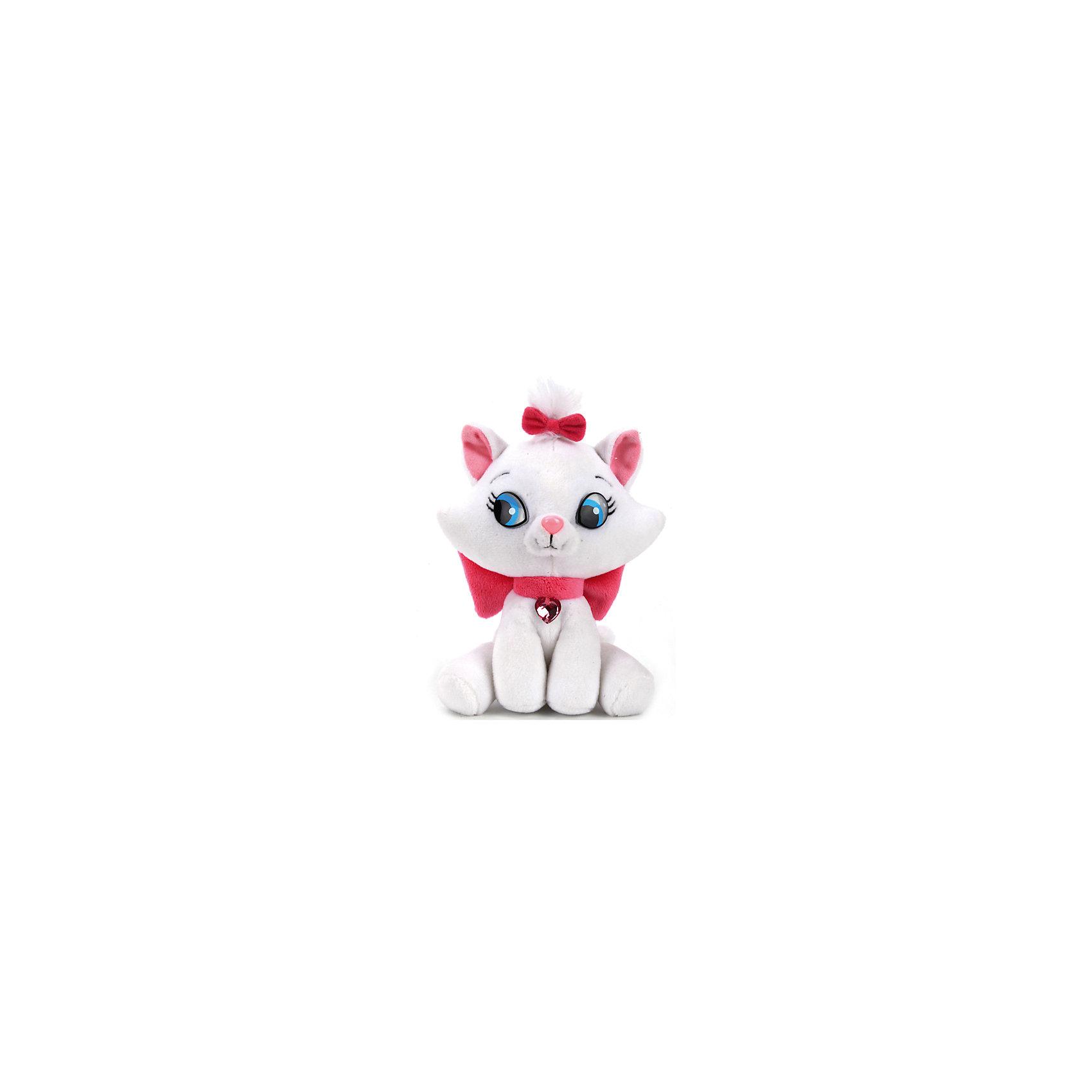 Мягкая игрушка Кошка Мэри, со звуком, Disney, МУЛЬТИ-ПУЛЬТИОзвученные мягкие игрушки<br>Мягкая игрушка Кошка Мэри со звуком от марки МУЛЬТИ-ПУЛЬТИ<br><br>Очаровательная мягкая игрушка от отечественного производителя сделана в виде известного персонажа из диснеевского мультфильма. Она поможет ребенку проводить время весело и с пользой. В игрушке есть встроенный звуковой модуль, который позволяет ей проигрывать мелодии.<br>Размер игрушки универсален - 15 сантиметров, её удобно брать с собой в поездки и на прогулку. Сделана она из качественных и безопасных для ребенка материалов, которые еще и приятны на ощупь. <br><br>Отличительные особенности  игрушки:<br><br>- материал: текстиль, пластик;<br>- звуковой модуль;<br>- цвет: белый;<br>- работает на батарейках;<br>- высота: 15 см.<br><br>Мягкую игрушку Кошка Мэри от марки МУЛЬТИ-ПУЛЬТИ можно купить в нашем магазине.<br><br>Ширина мм: 360<br>Глубина мм: 240<br>Высота мм: 240<br>Вес г: 100<br>Возраст от месяцев: 36<br>Возраст до месяцев: 84<br>Пол: Унисекс<br>Возраст: Детский<br>SKU: 4659501