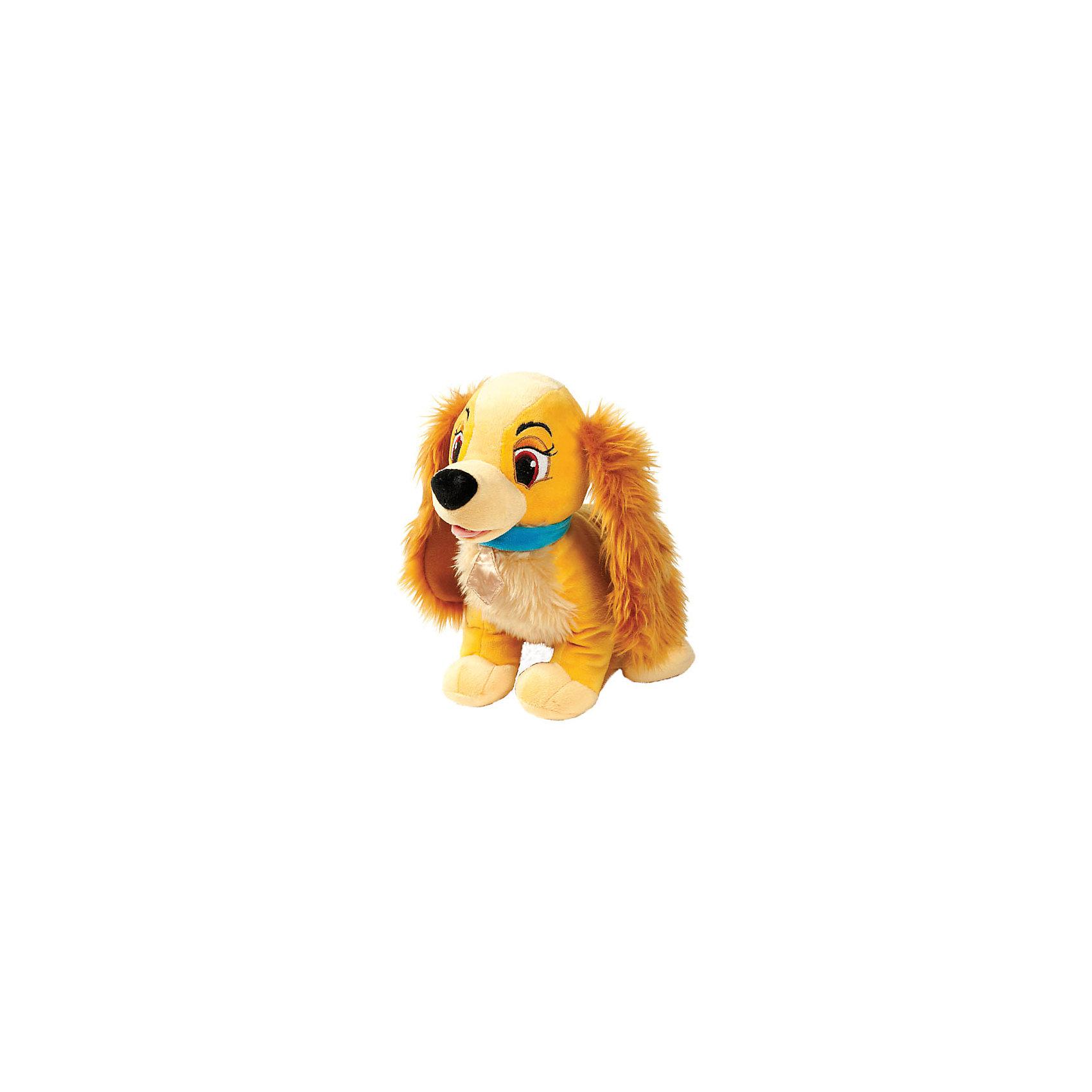 Мягкая игрушка  Леди Disney, 25 см, со звуком, МУЛЬТИ-ПУЛЬТИКошки и собаки<br>Мягкая игрушка Леди Disney со звуком от марки МУЛЬТИ-ПУЛЬТИ<br><br>Интерактивная мягкая игрушка от отечественного производителя сделана в виде известного персонажа из диснеевского мультфильма. Она поможет ребенку проводить время весело и с пользой. В игрушке есть встроенный звуковой модуль, работающий на батарейках.<br>Размер игрушки универсален - 25 сантиметров, её удобно брать с собой в поездки и на прогулку. Сделана она из качественных и безопасных для ребенка материалов, которые еще и приятны на ощупь. <br><br>Отличительные особенности  игрушки:<br><br>- материал: текстиль, пластик;<br>- звуковой модуль;<br>- цвет: коричневый;<br>- работает на батарейках;<br>- высота: 25 см.<br><br>Мягкую игрушку Леди Disney от марки МУЛЬТИ-ПУЛЬТИ можно купить в нашем магазине.<br><br>Ширина мм: 380<br>Глубина мм: 510<br>Высота мм: 450<br>Вес г: 250<br>Возраст от месяцев: 36<br>Возраст до месяцев: 84<br>Пол: Женский<br>Возраст: Детский<br>SKU: 4659504